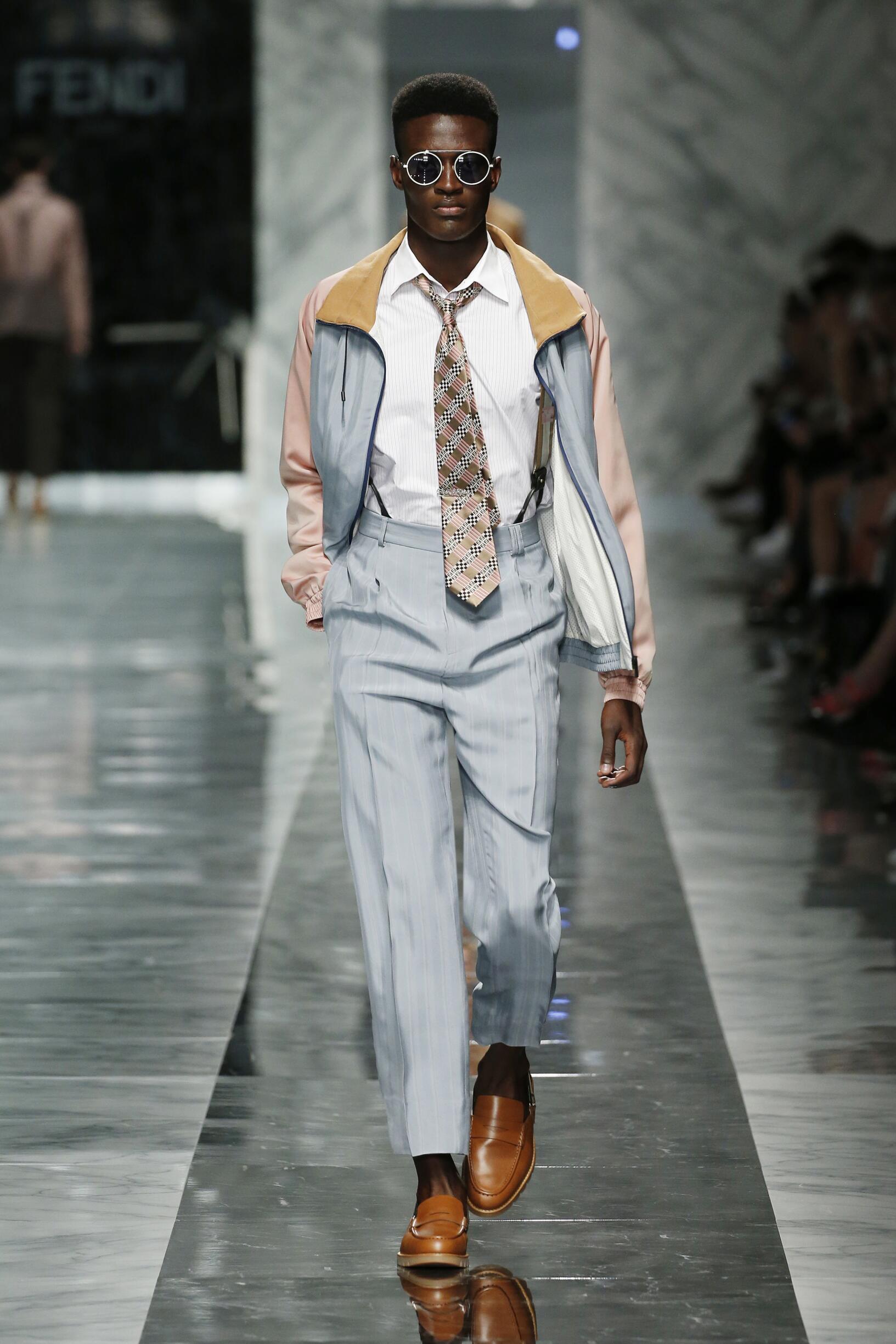 Fendi SS 2018 Menswear