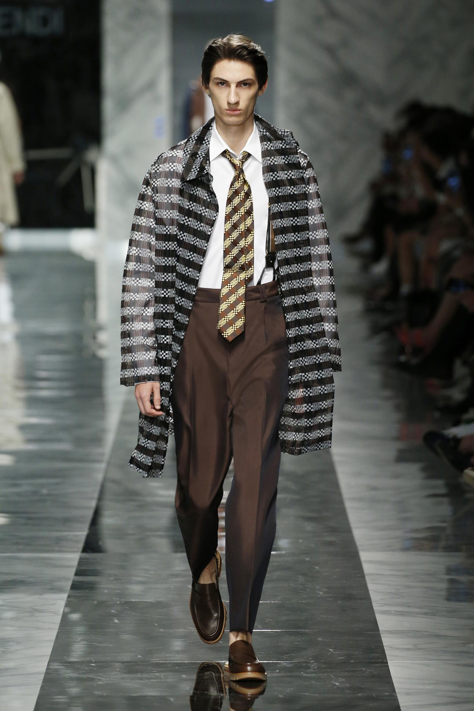 Fendi Spring Summer 2018 Mens Collection Milan Fashion Week