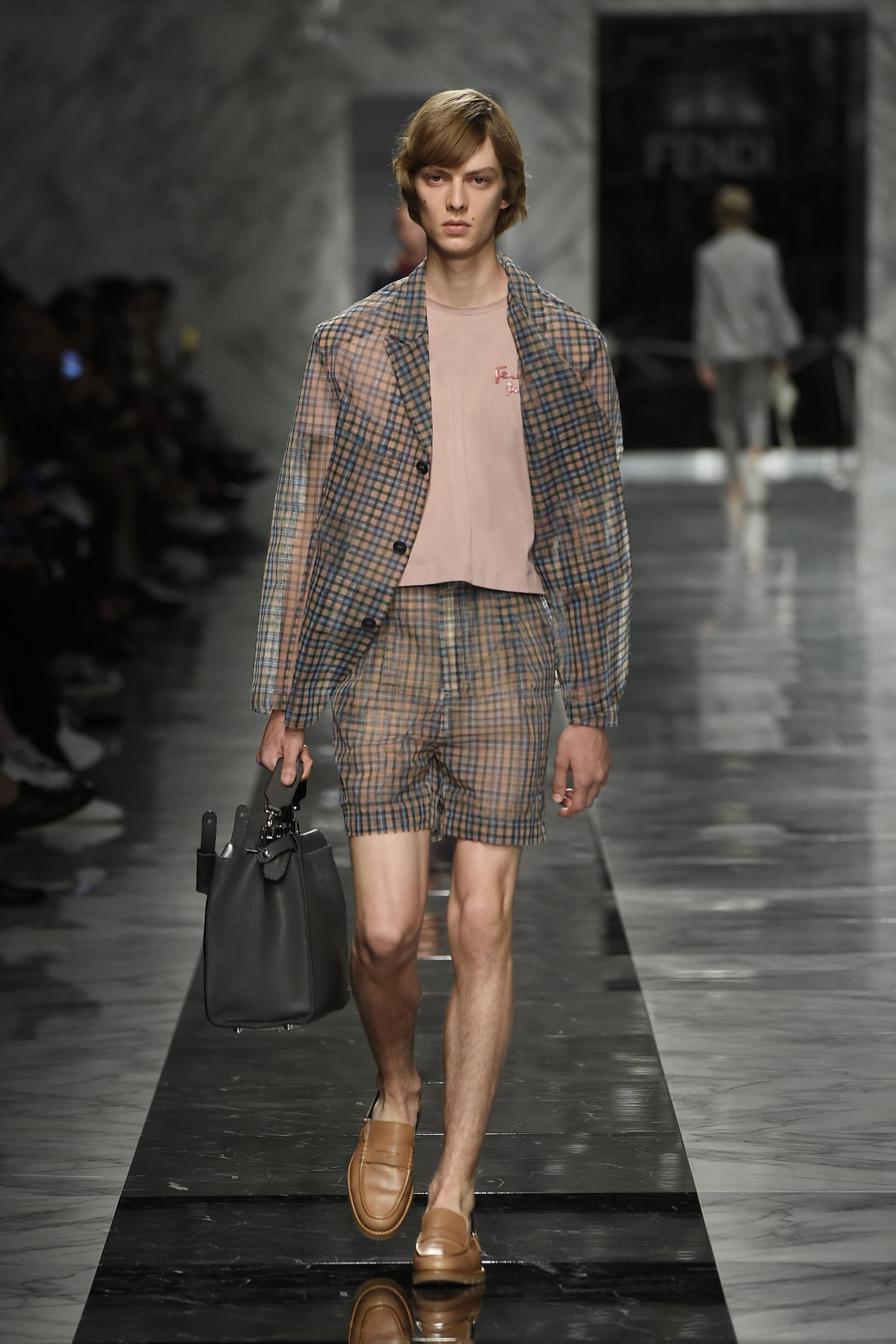 FENDI SPRING SUMMER 2018 MEN'S COLLECTION