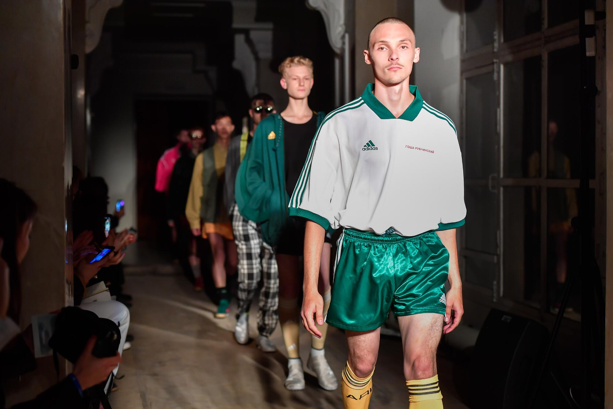 Finale Spring Summer 2018 Man Saint Petersburg Gosha Rubchinskiy Collection