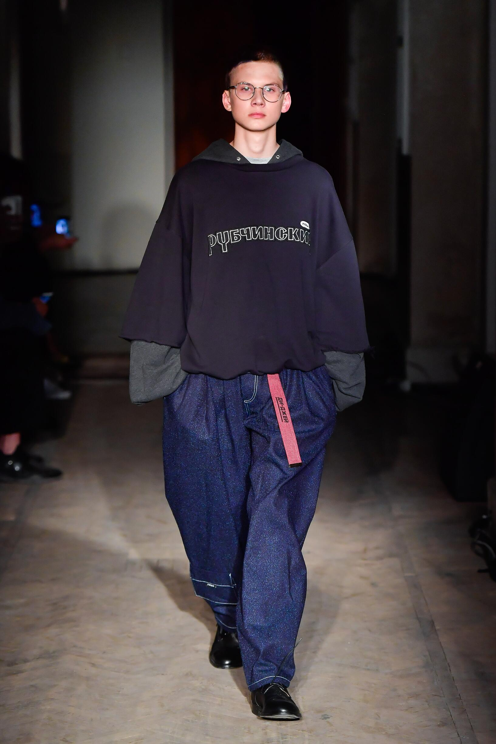 Gosha Rubchinskiy Fashion Show SS 2018 Mens Collection