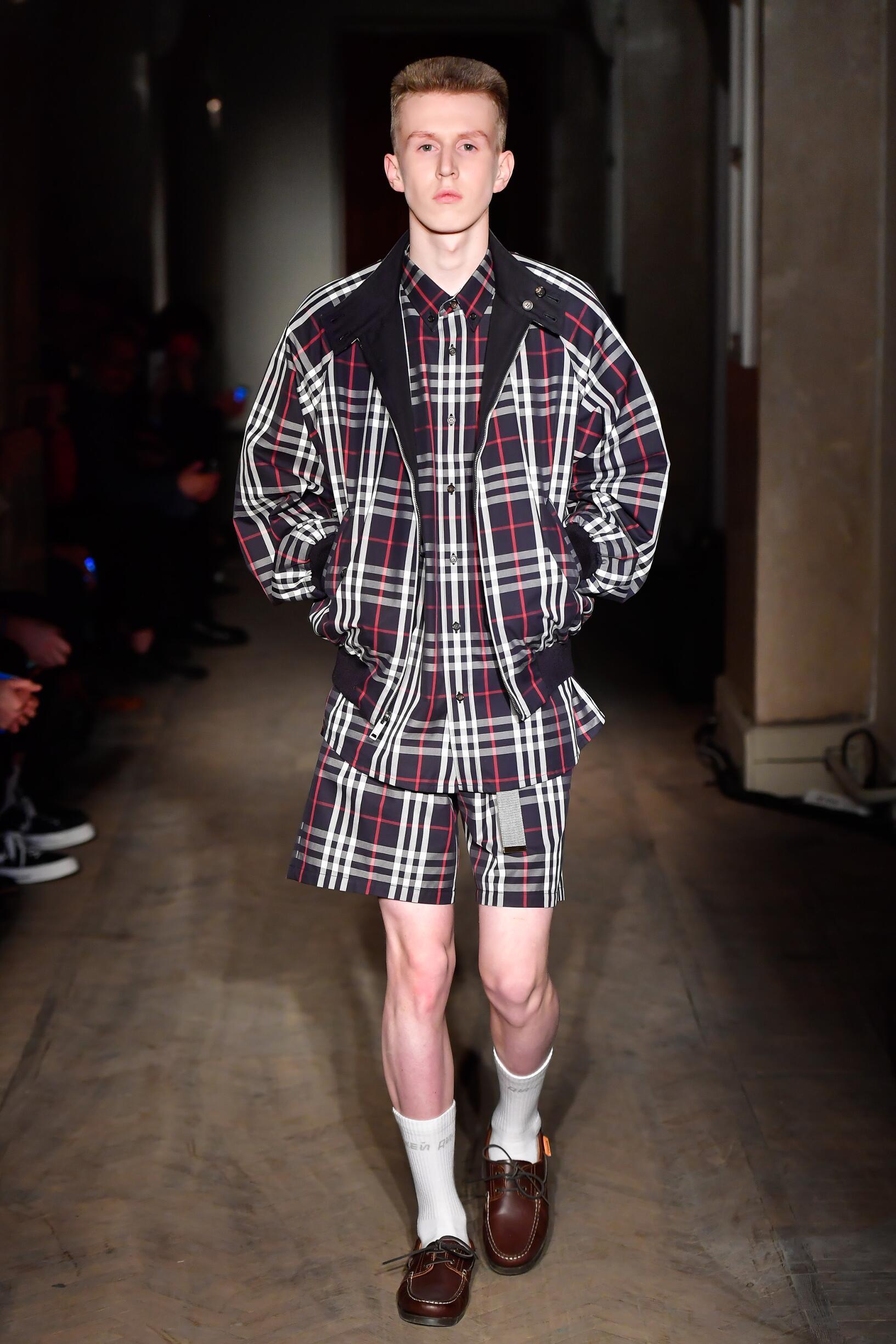 Gosha Rubchinskiy Man Fashion Style