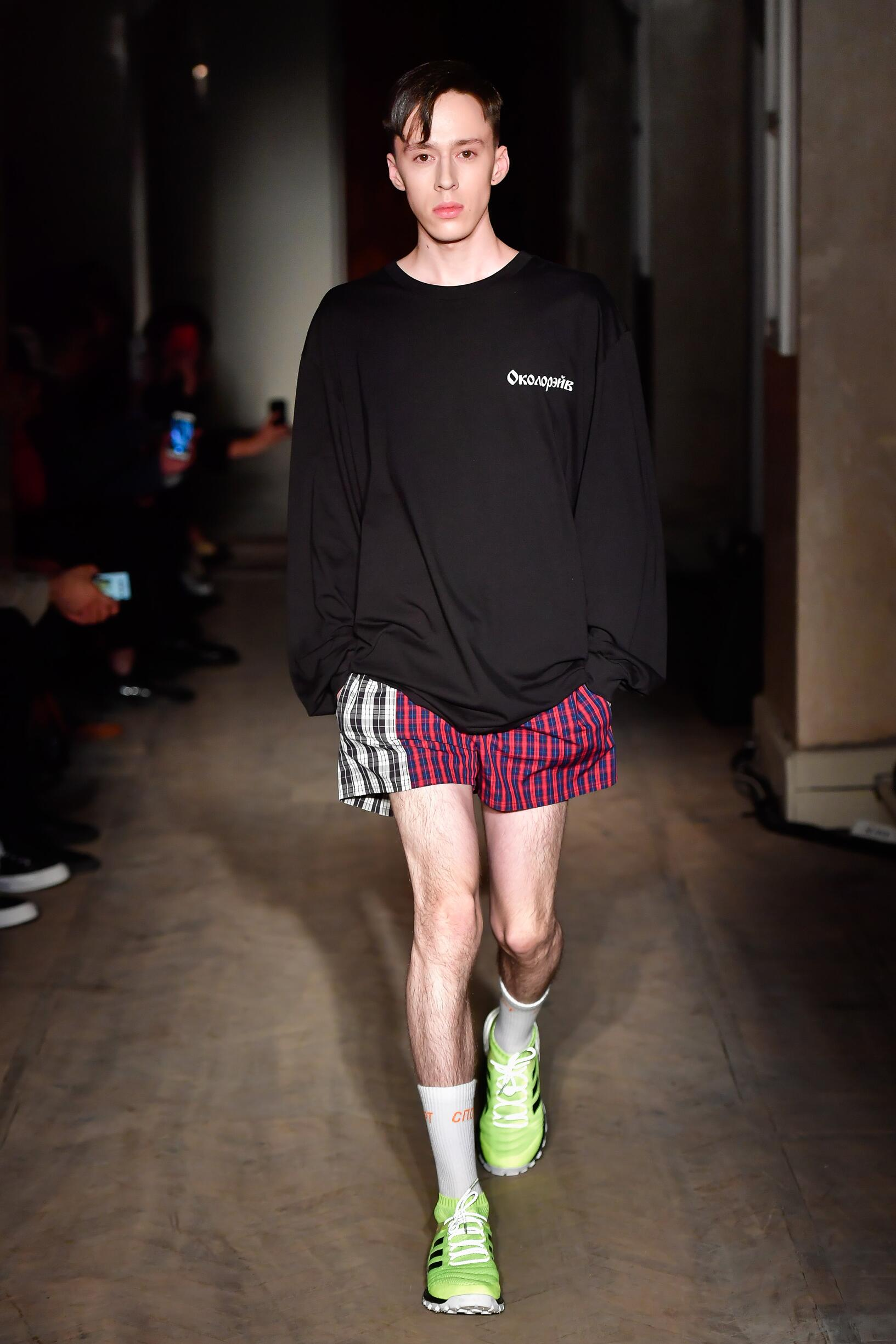 Gosha Rubchinskiy Mens Fashion Show