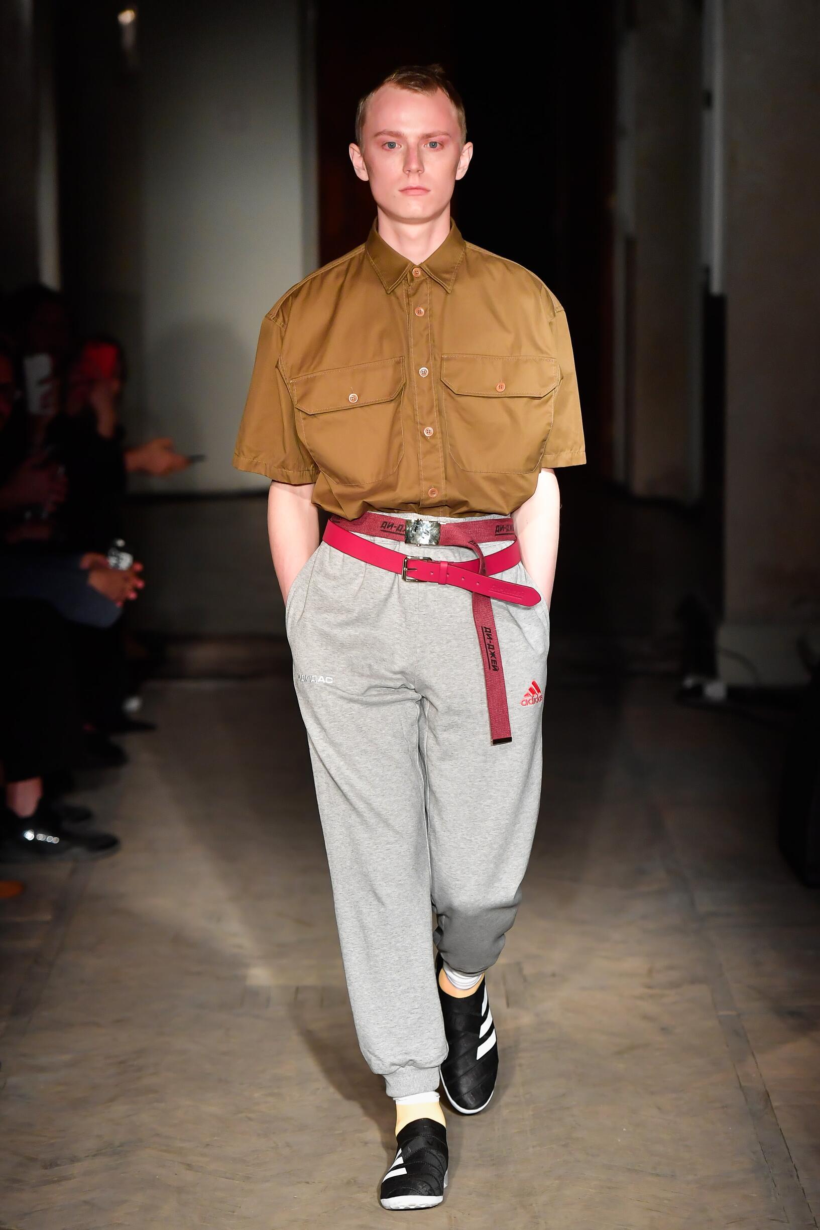 Gosha Rubchinskiy Saint Petersburg Fashion Week Menswear