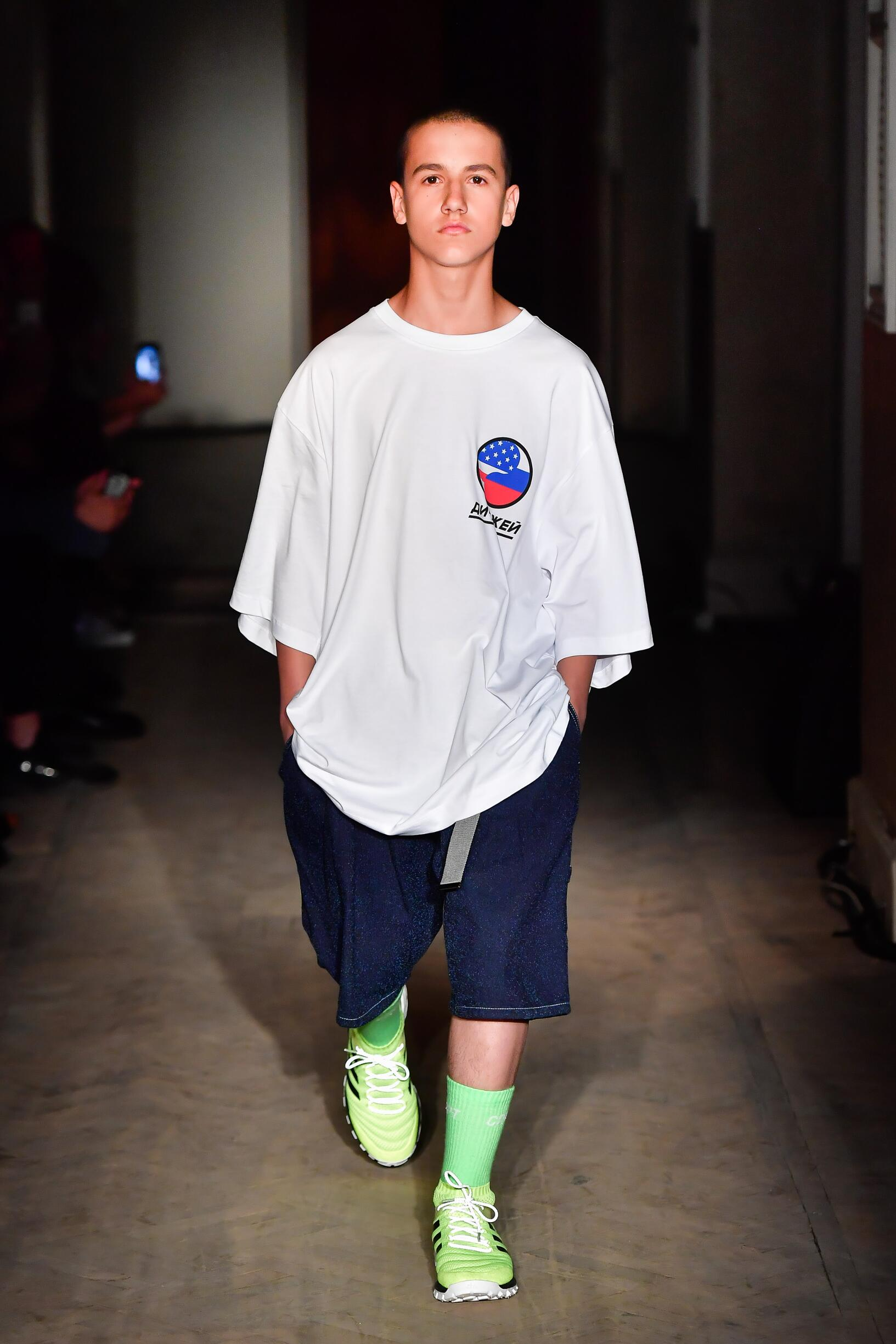 Gosha Rubchinskiy Spring Summer 2018 Mens Collection Saint Petersburg Fashion Week
