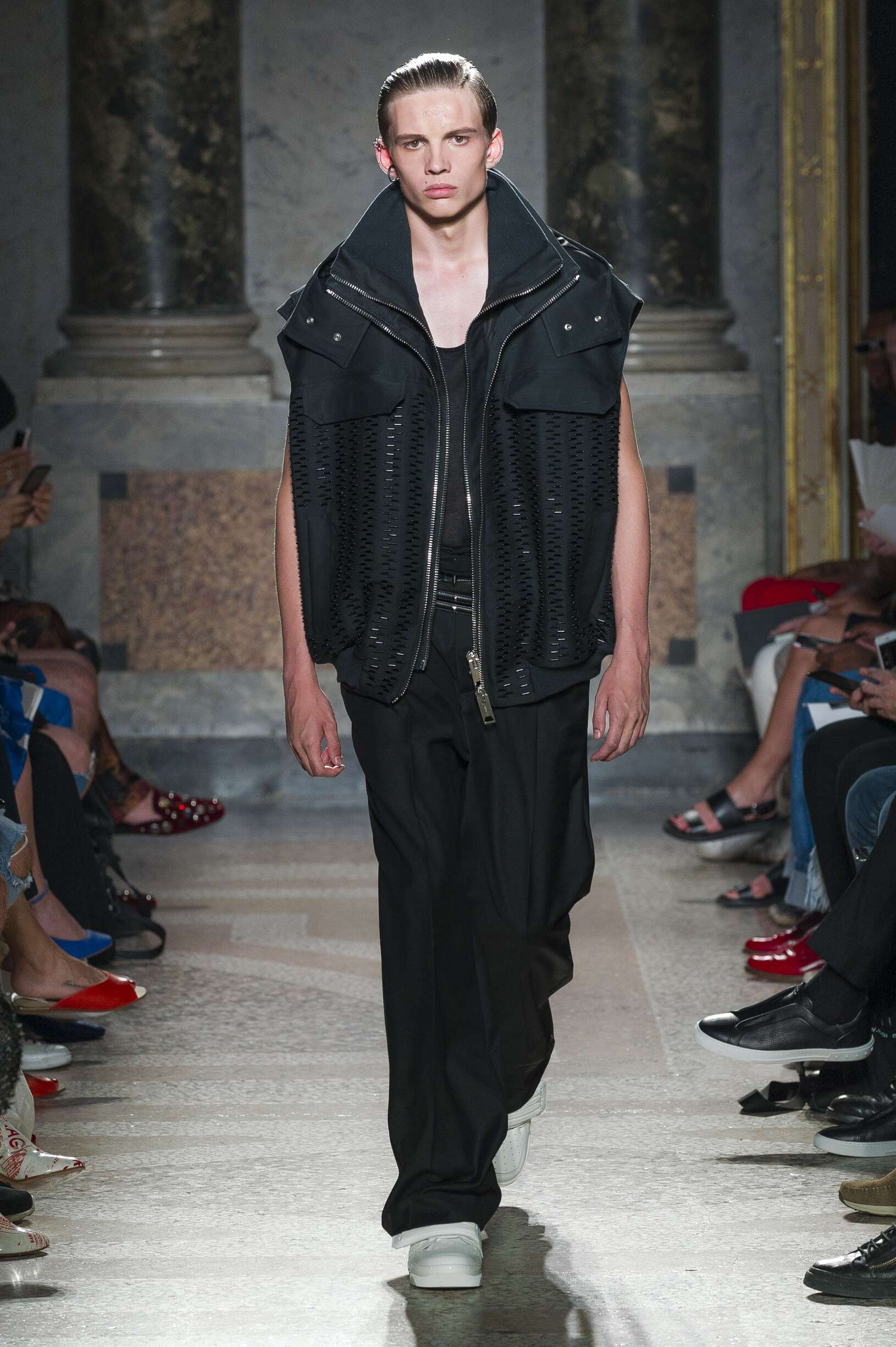 Les Hommes Spring Summer 2018 Mens Collection Milan Fashion Week