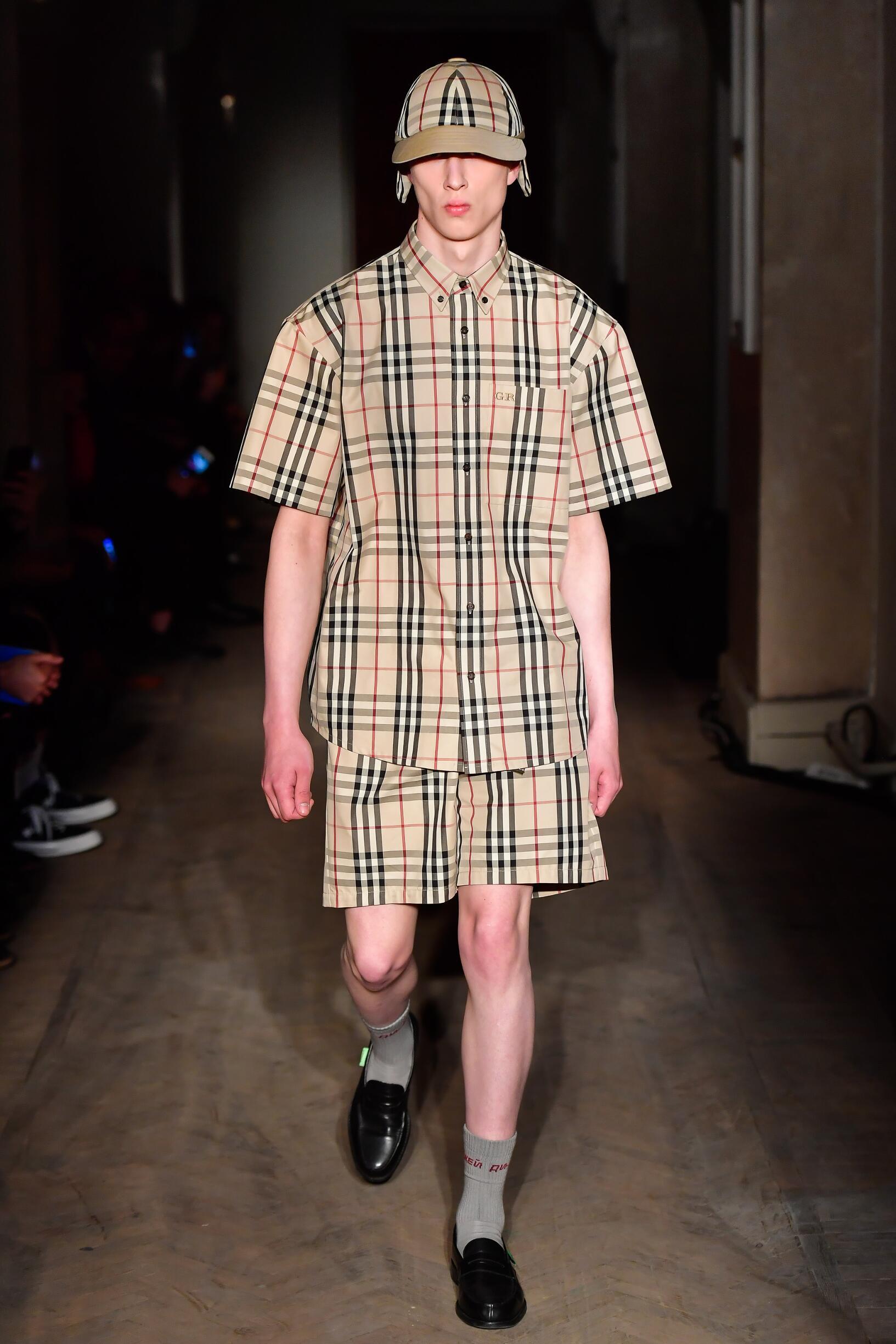 Man Catwalk Gosha Rubchinskiy Summer 2018