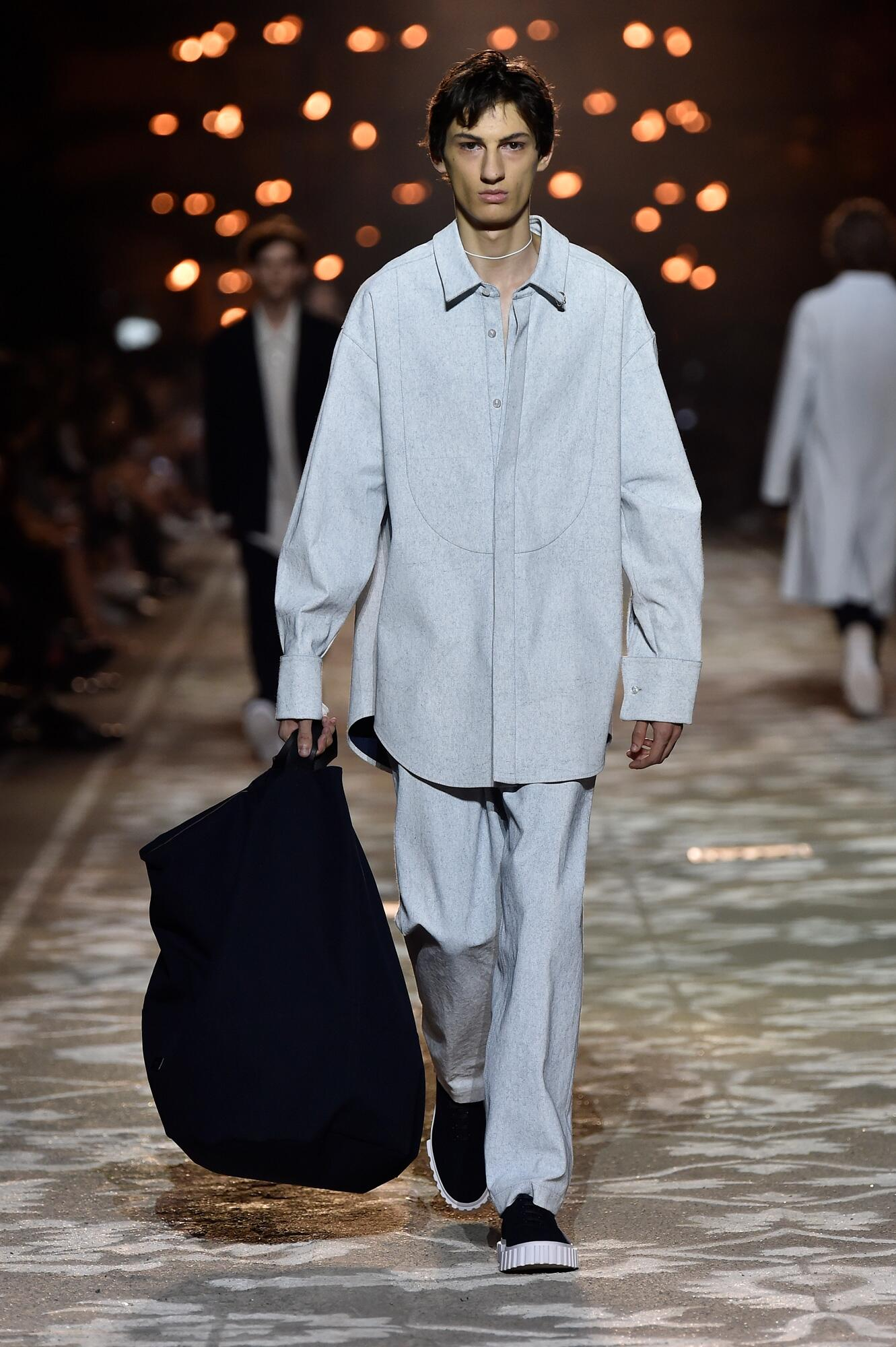 Man Catwalk Hugo Summer 2018