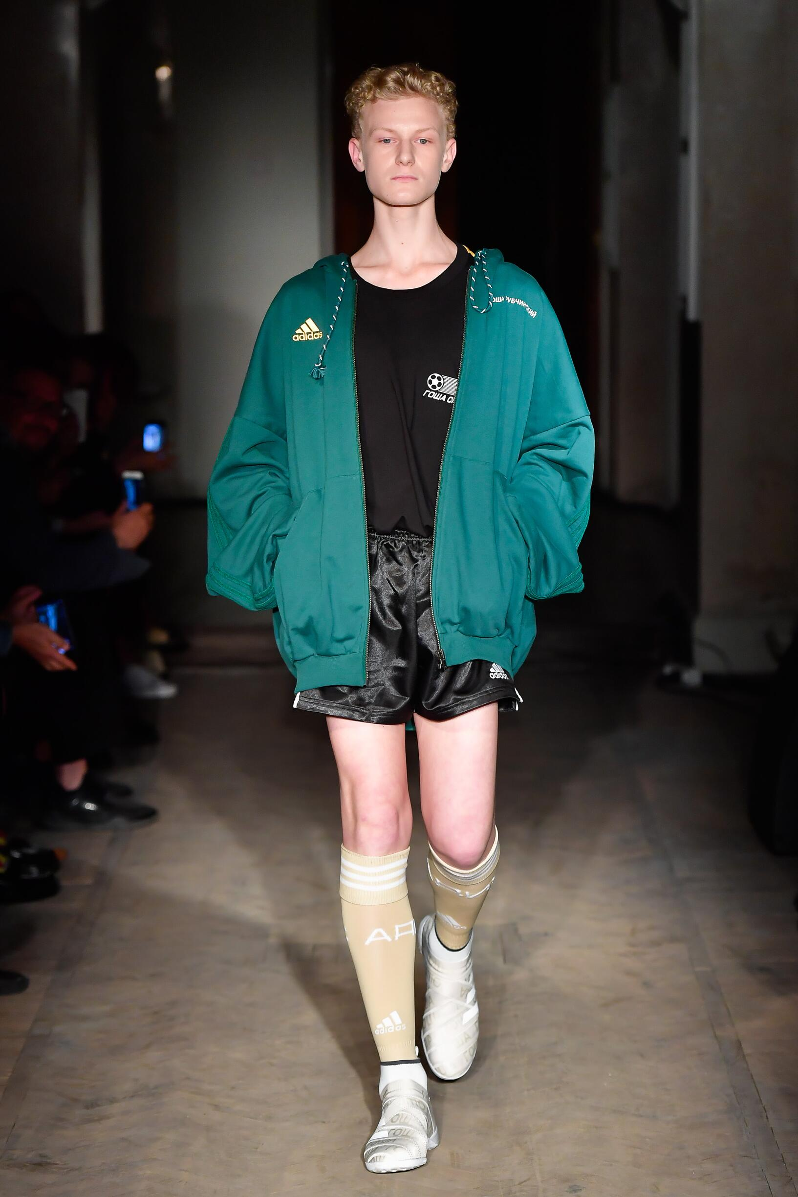 Man Model Fashion Show Gosha Rubchinskiy