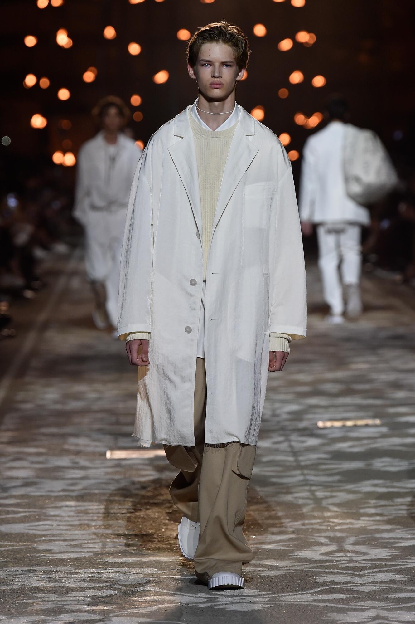 Man Model Fashion Show Hugo
