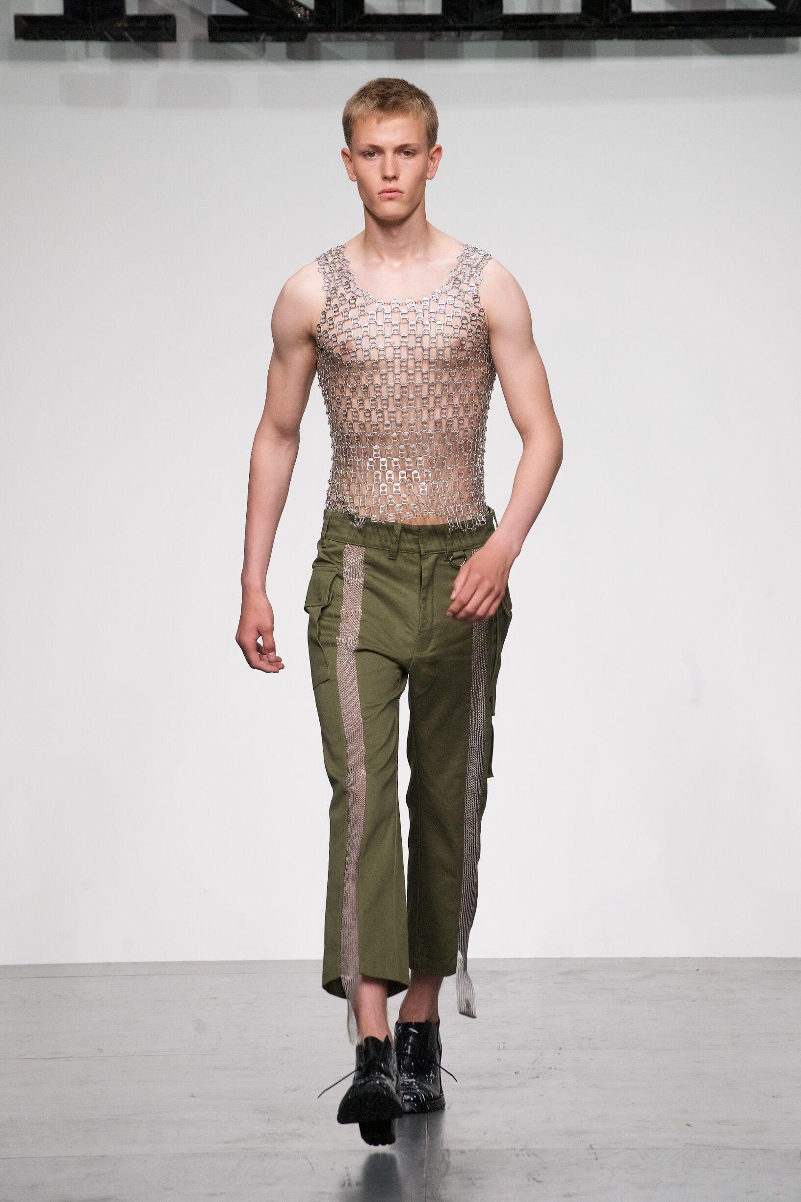 Man Model Fashion Show KTZ