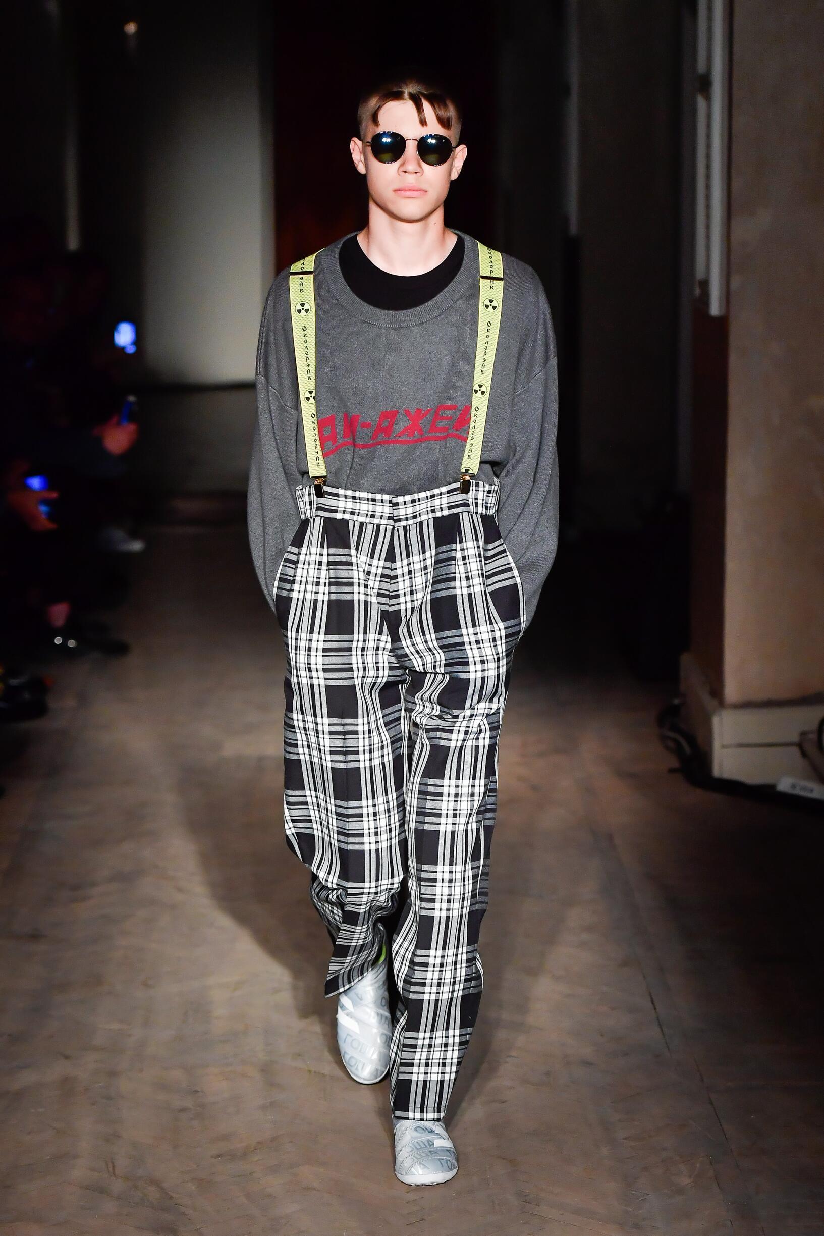 Man SS 2018 Fashion Show Gosha Rubchinskiy