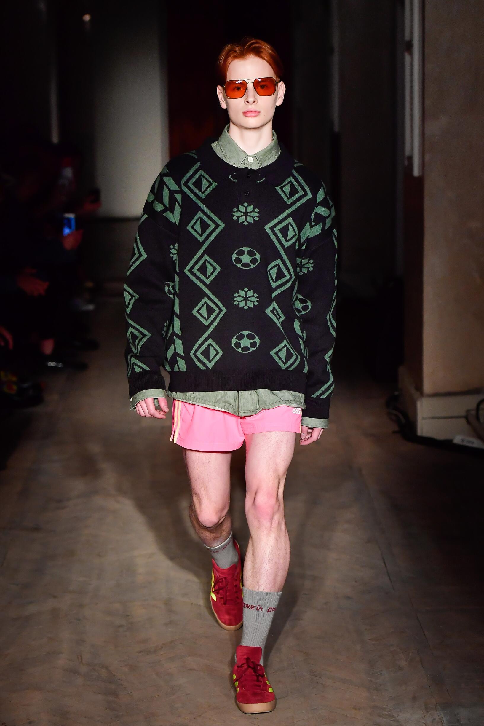Man Summer 2018 Fashion Trends Gosha Rubchinskiy