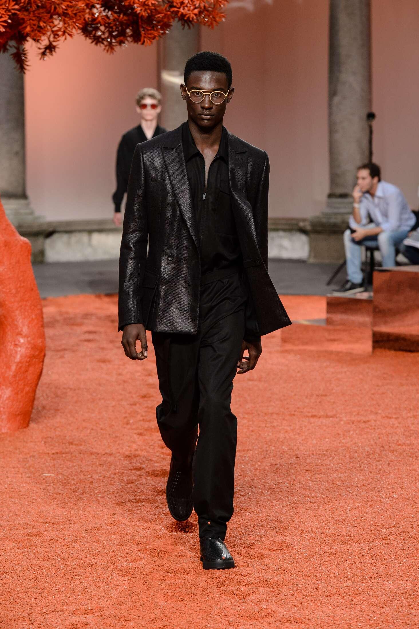 Menswear SS Ermenegildo Zegna Couture 2018