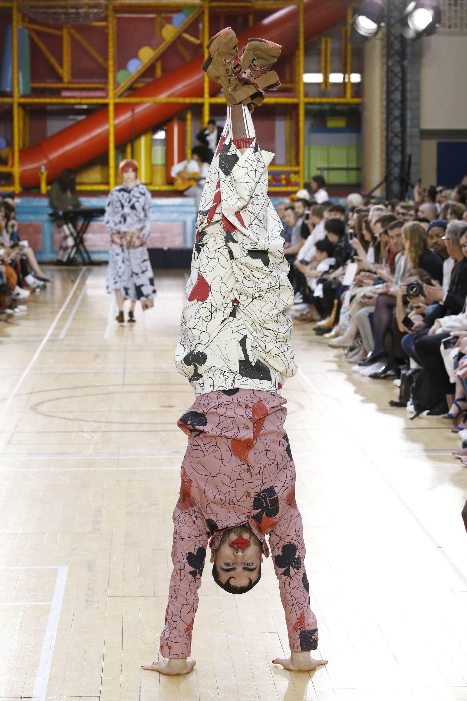 Menswear Spring Summer Vivienne Westwood 2018 Trends