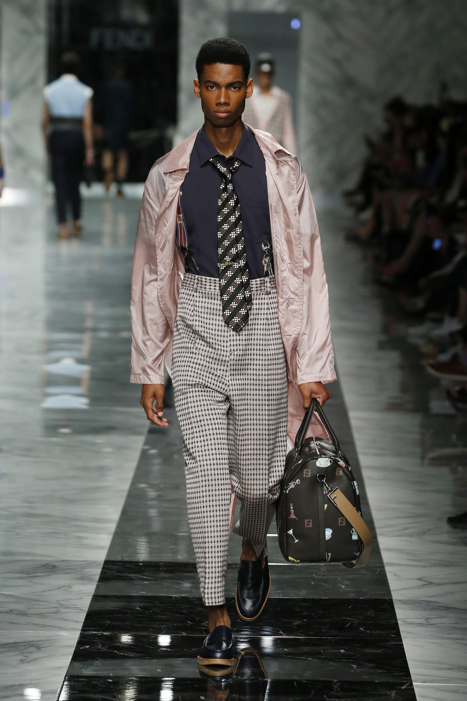 Menswear Summer Fendi 2018