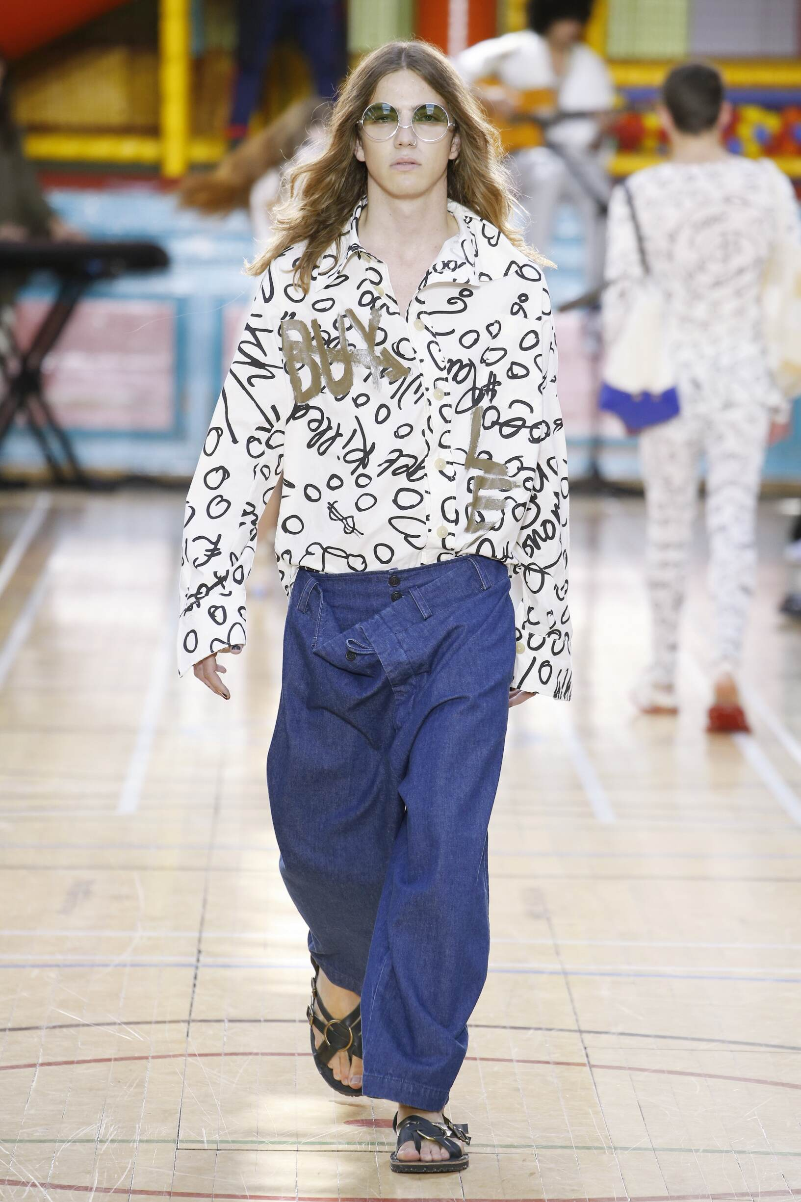 Model Fashion Show Vivienne Westwood