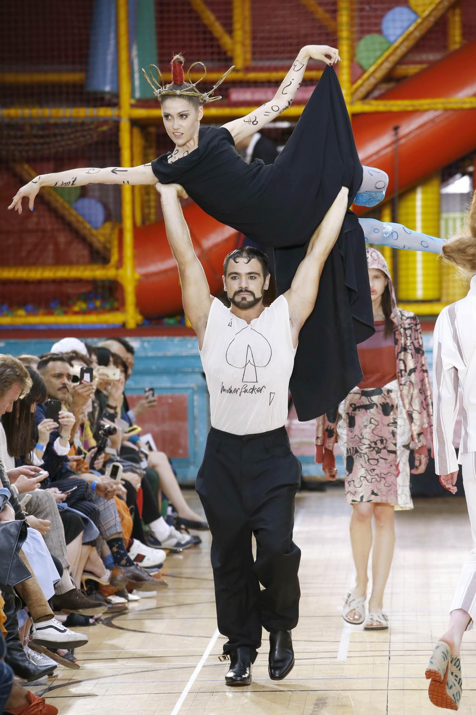 Models Fashion 2018 Catwalk Vivienne Westwood
