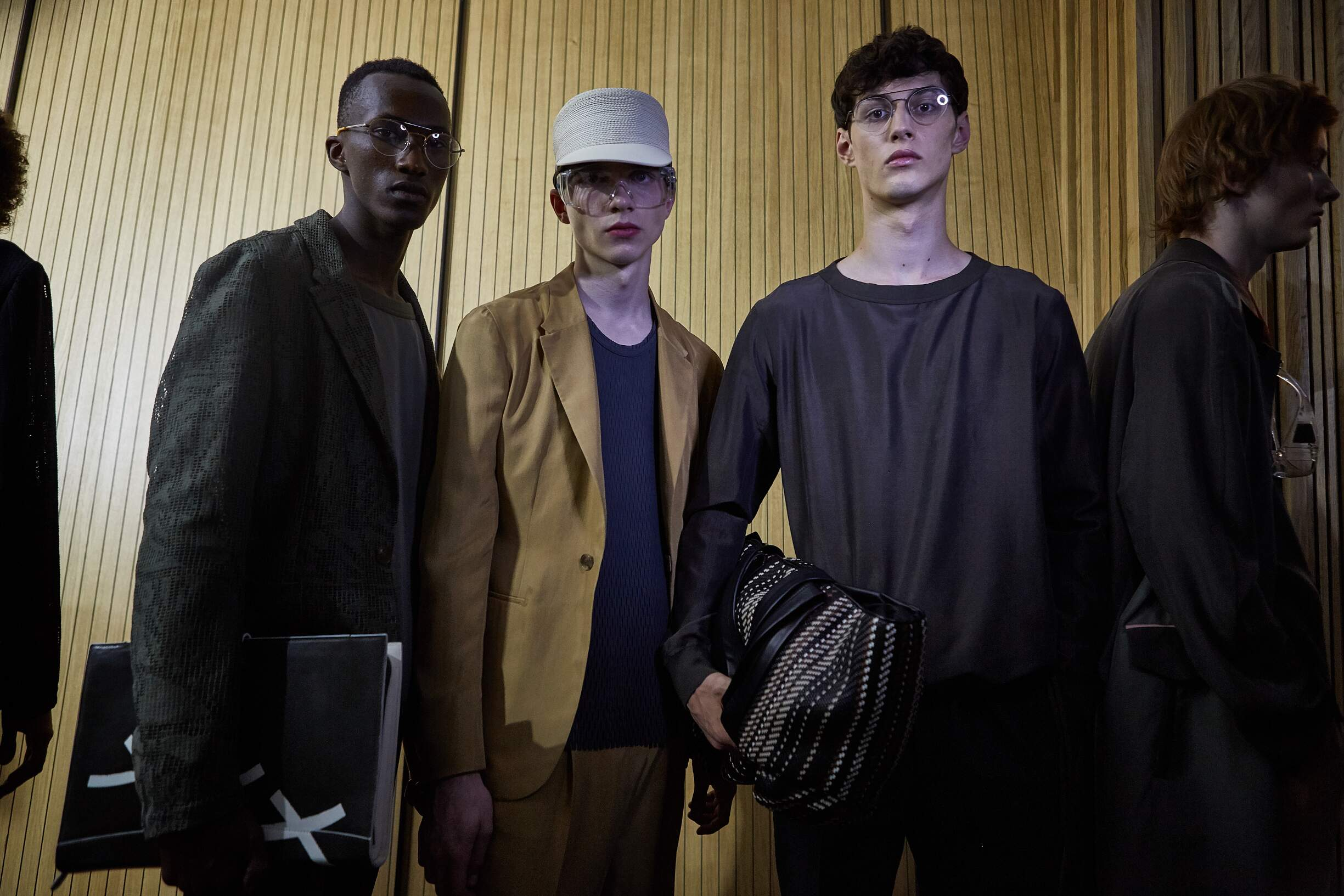 Models Spring Summer 2018 Backstage Ermenegildo Zegna Couture