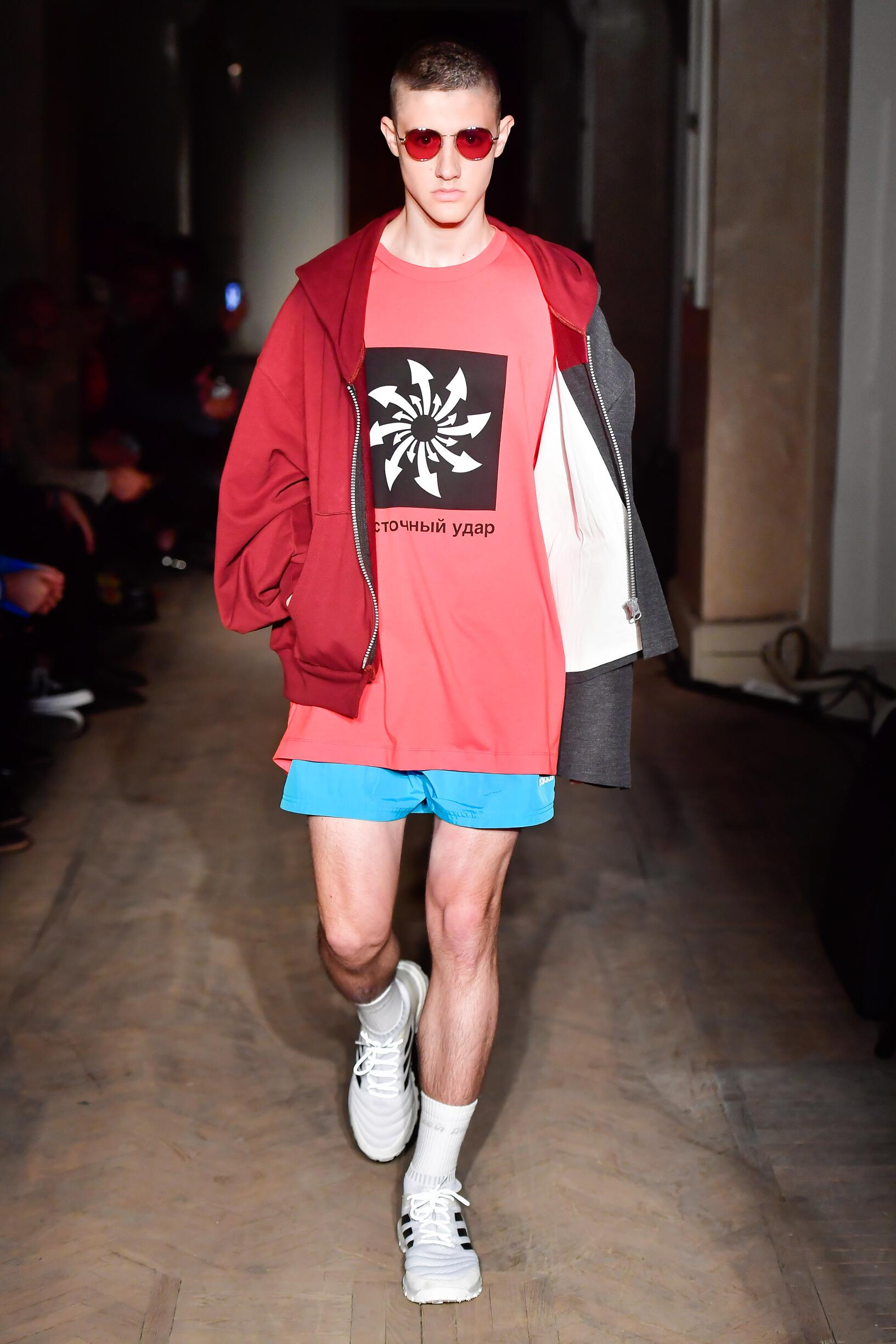 Runway Gosha Rubchinskiy Spring Summer 2018 Men's Collection Saint Petersburg Fashion Week