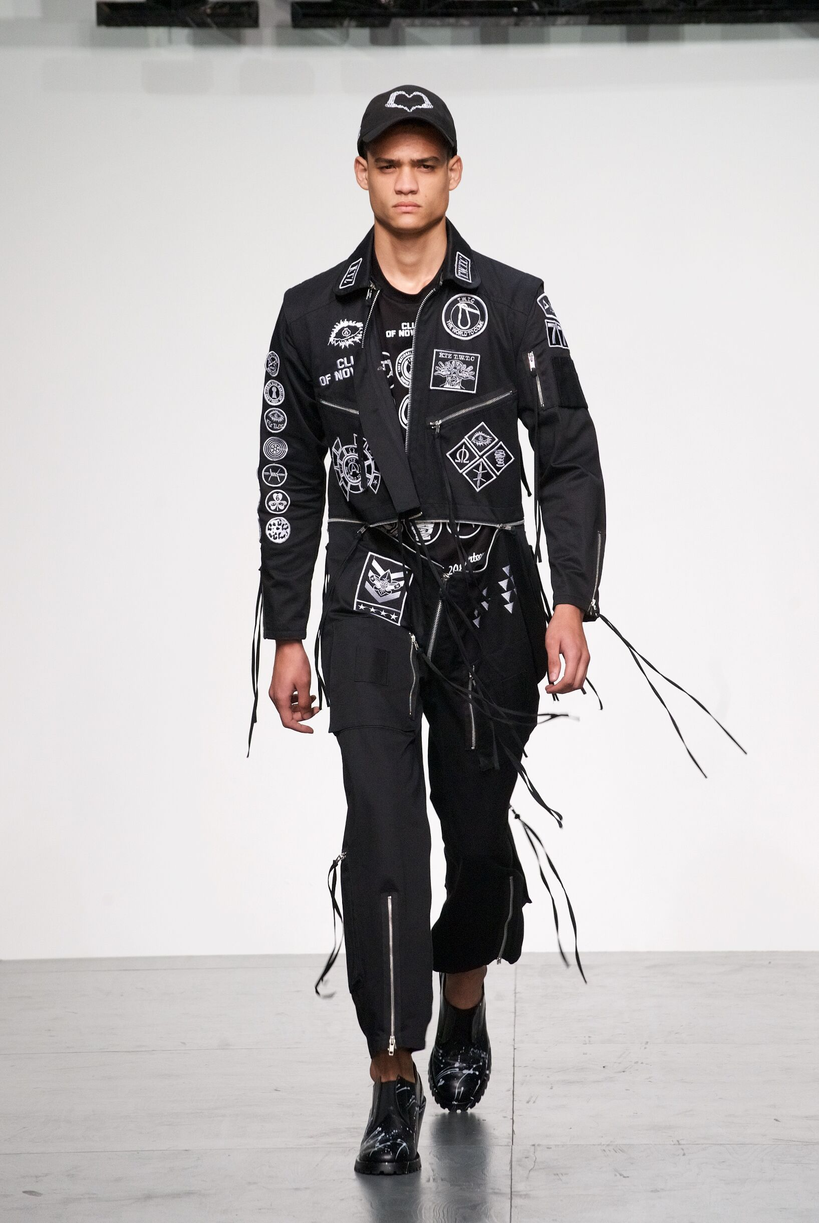 Runway KTZ Spring Summer 2018 Men's Collection London Fashion Week