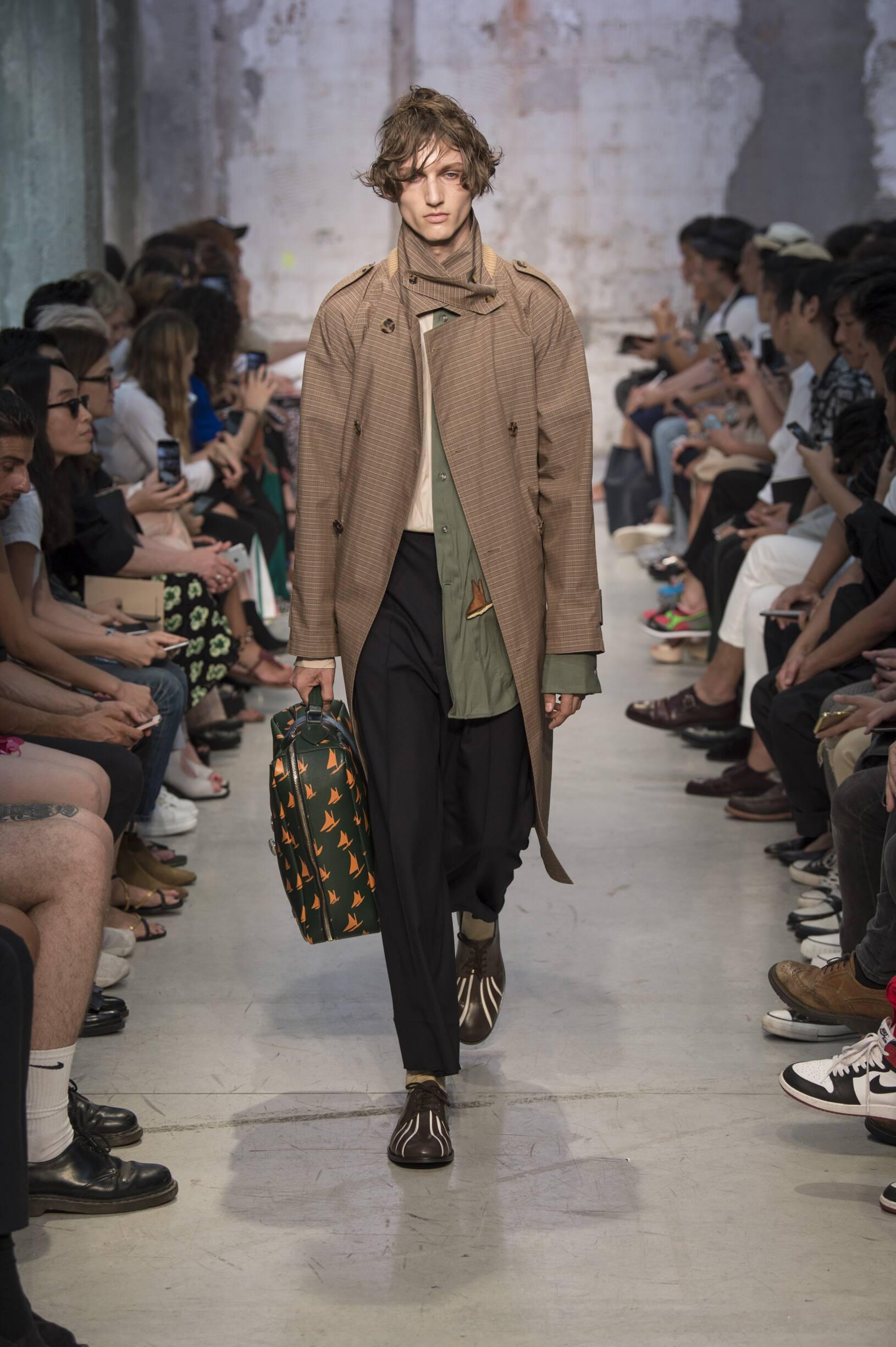 Runway Marni Spring Summer 2018 Men's Collection Milan Fashion Week