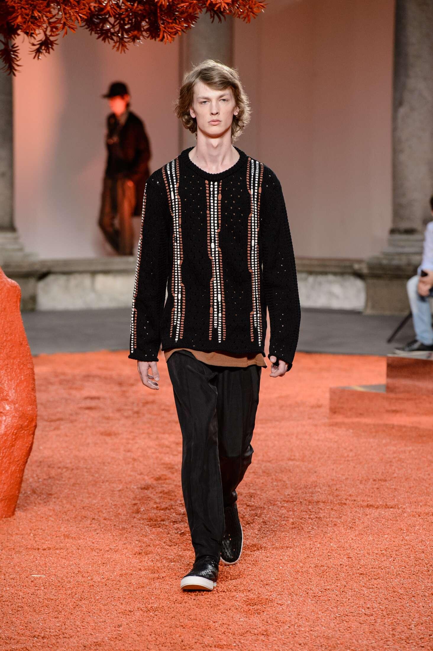 SS 2018 Ermenegildo Zegna Couture Fashion Show Milan