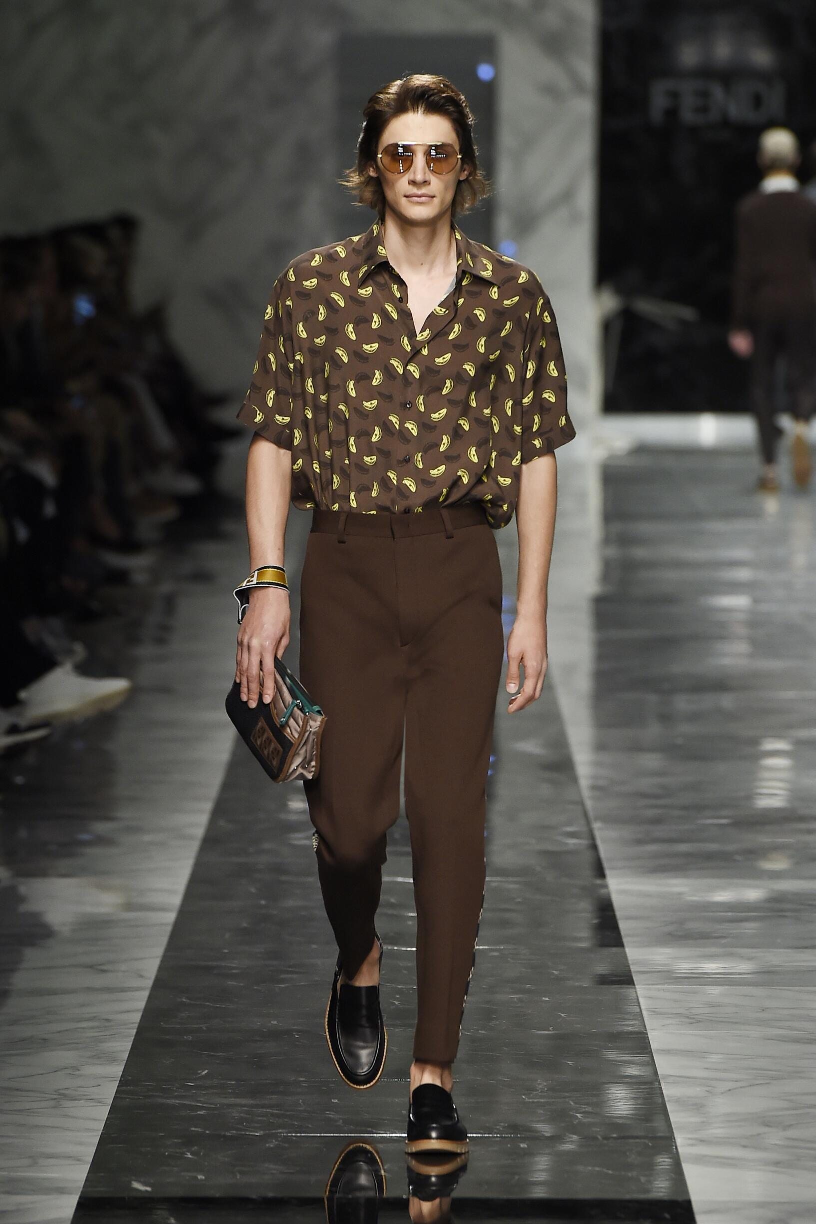 Fendi Spring Summer 2018 Men Rsquo S Collection The Skinny Beep