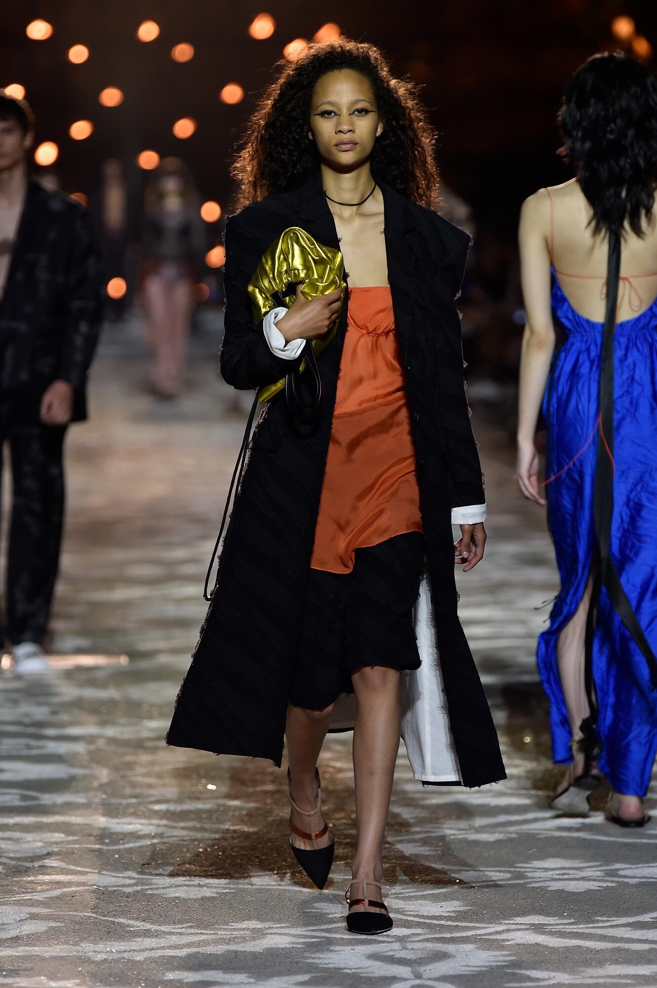 SS 2018 Hugo Fashion Show Florence Pitti Immagine