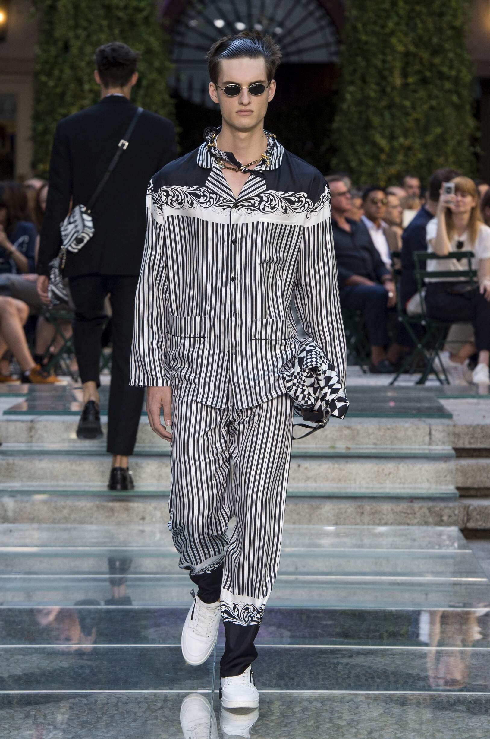 versace spring summer 2018 men u2019s collection