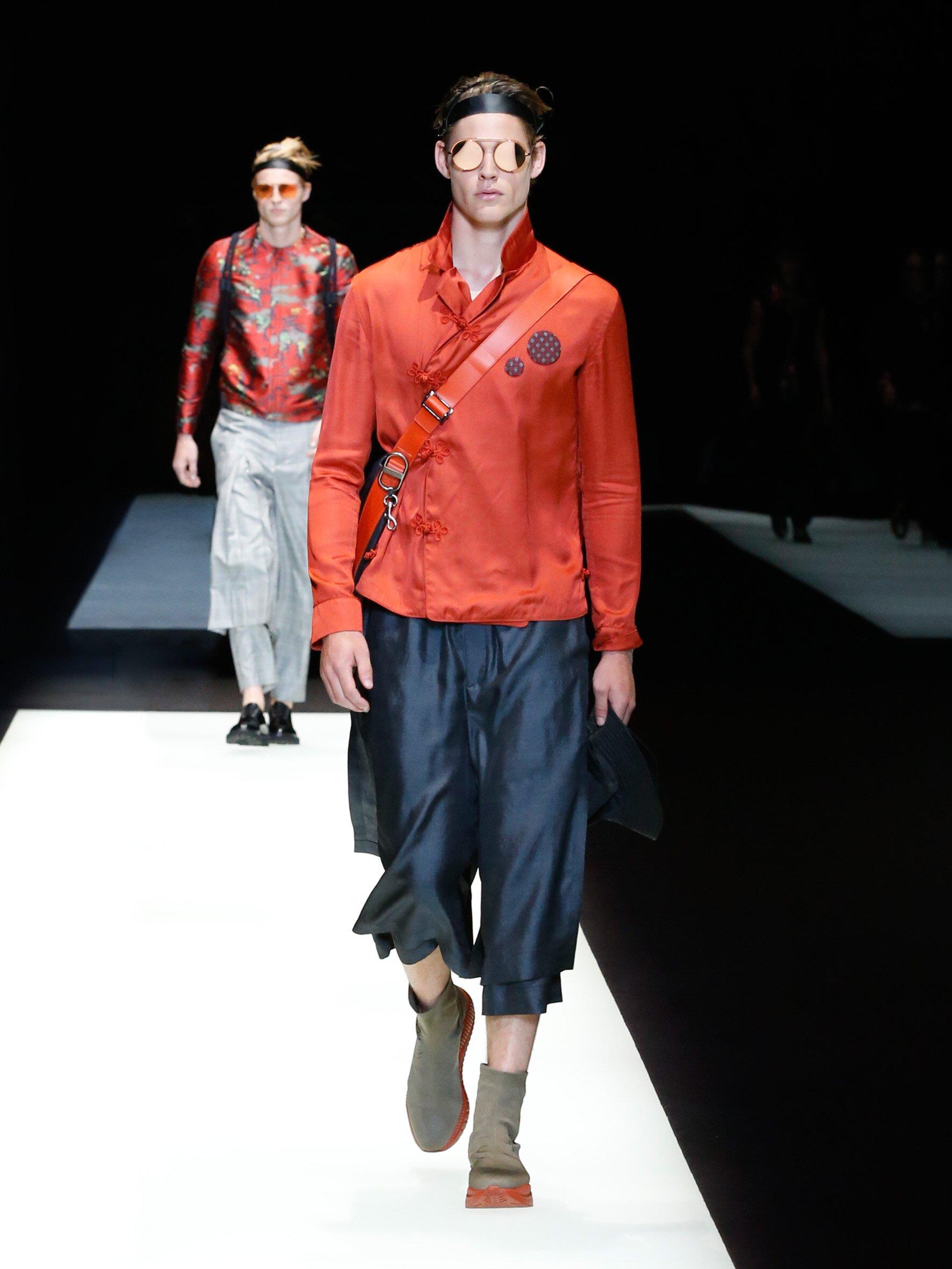 Spring 2018 Menswear Emporio Armani