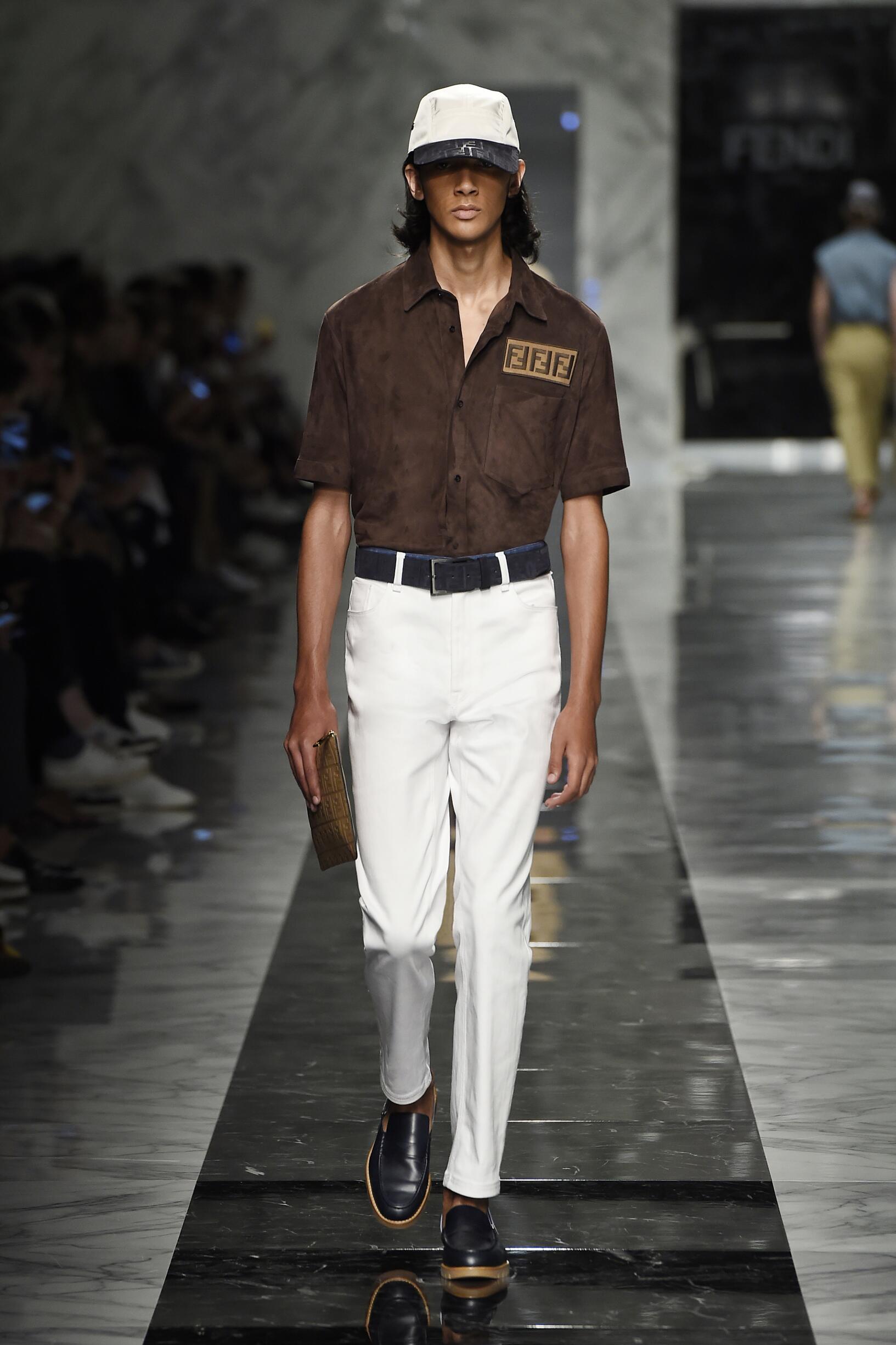 Spring 2018 Menswear Fendi