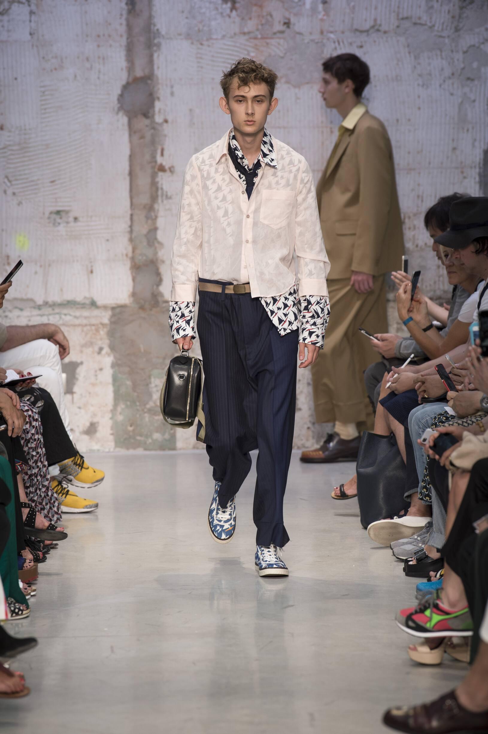 Spring 2018 Menswear Marni