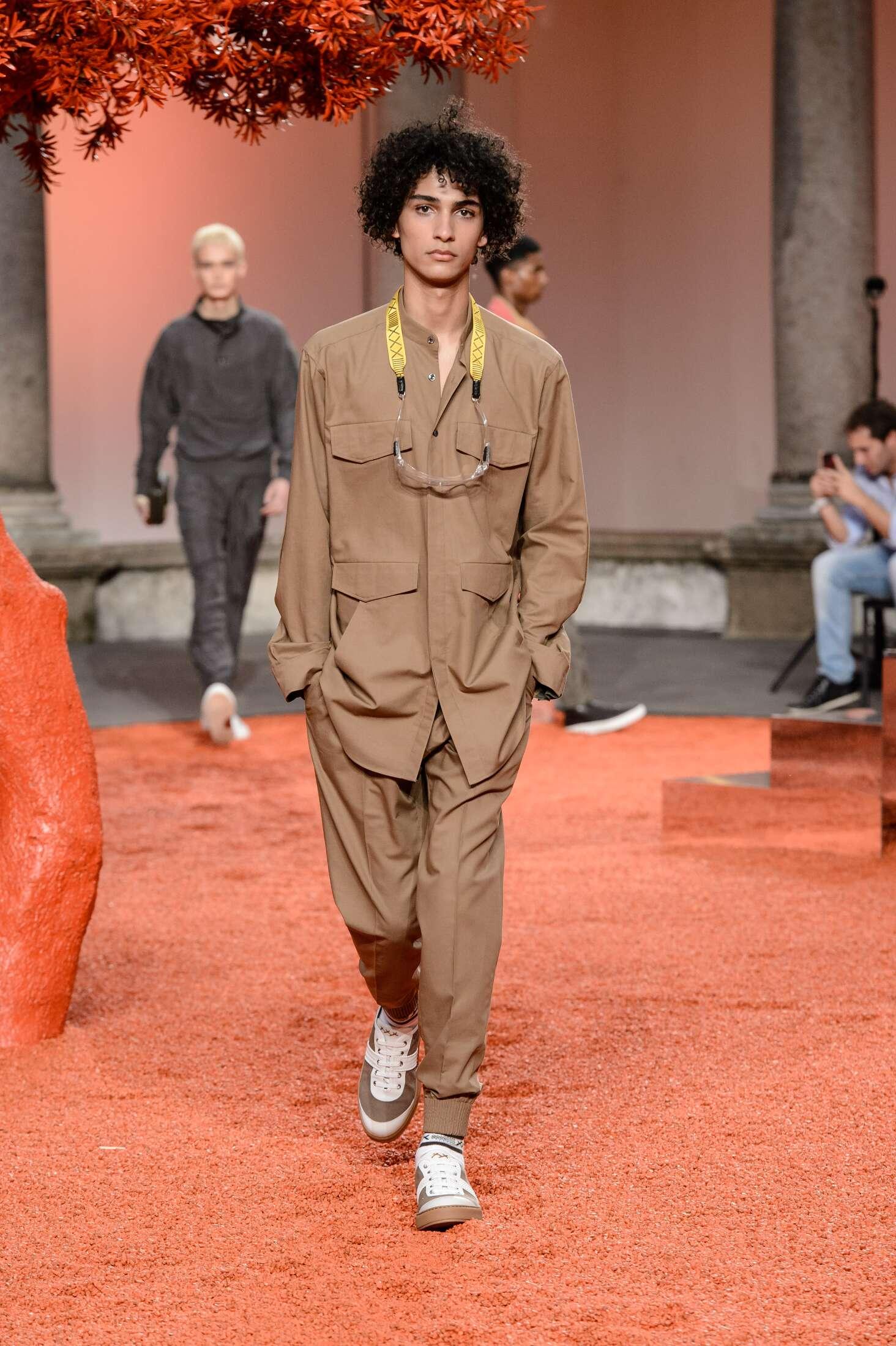 Spring Fashion 2018 Ermenegildo Zegna Couture