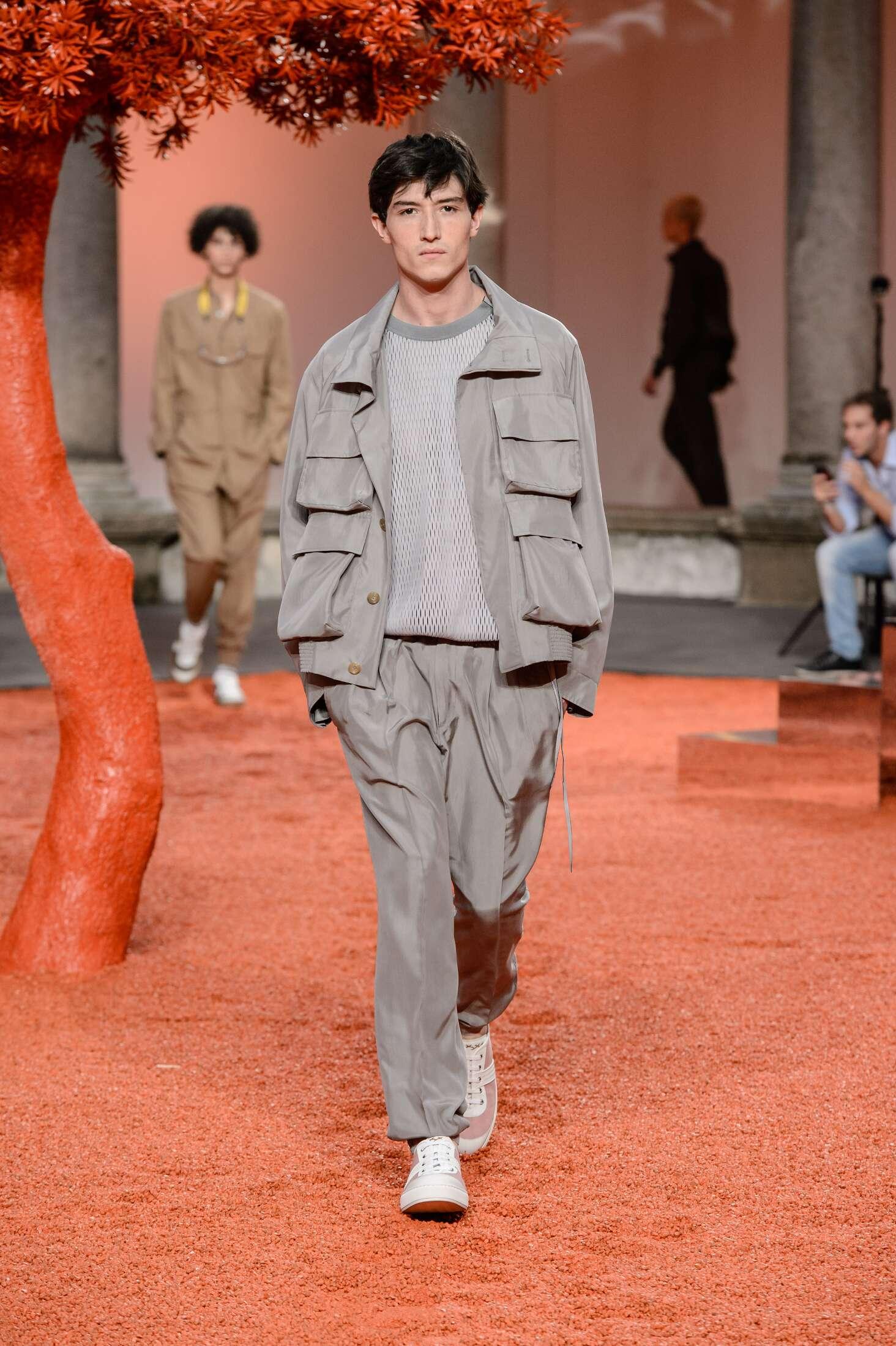 Spring Fashion Trends 2018 Ermenegildo Zegna Couture