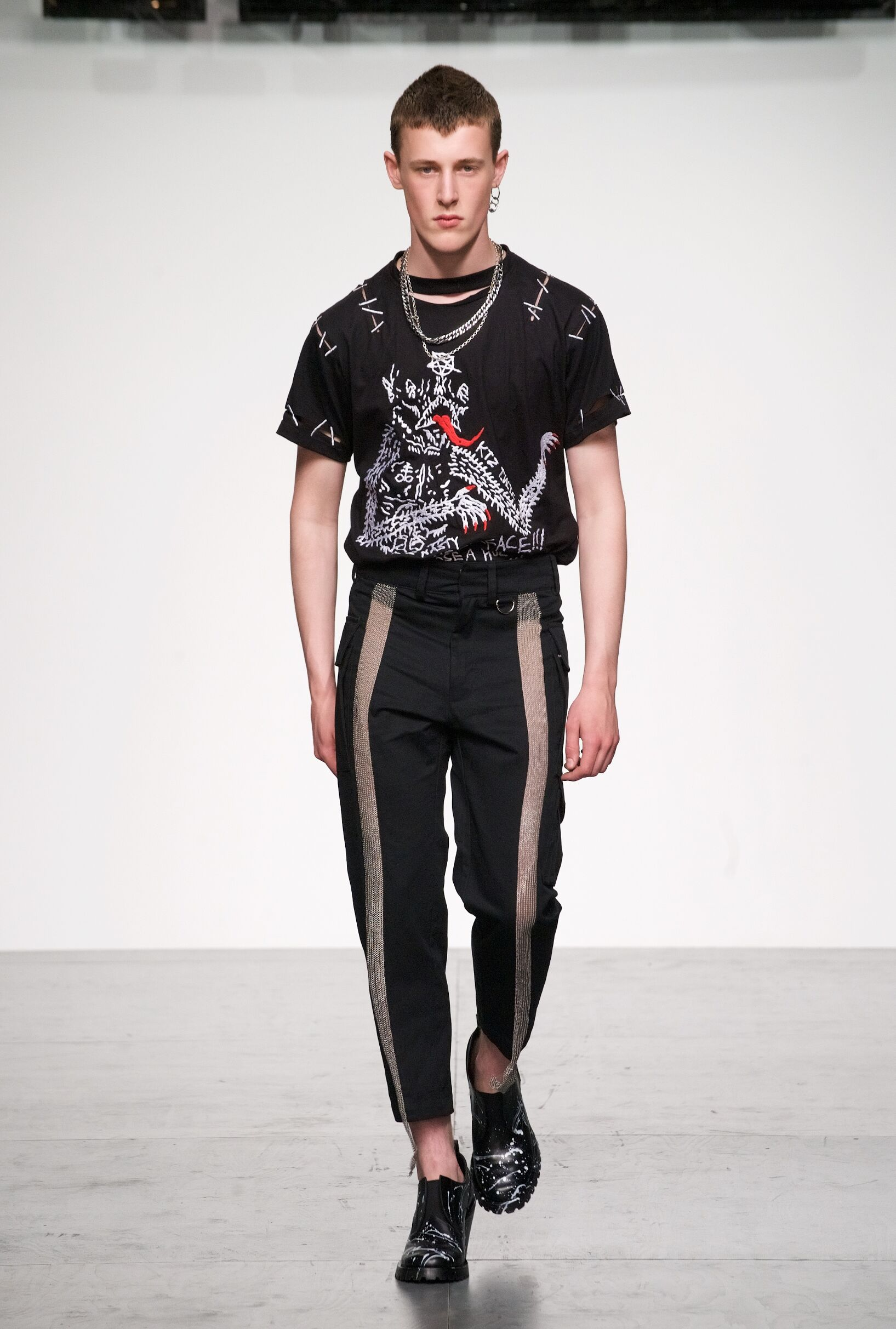 Spring Summer 2018 Man London KTZ Collection