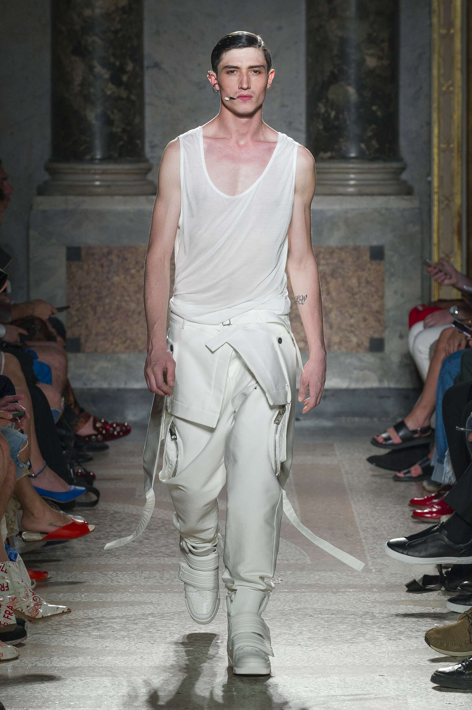 Spring Summer 2018 Man Milan Les Hommes Collection
