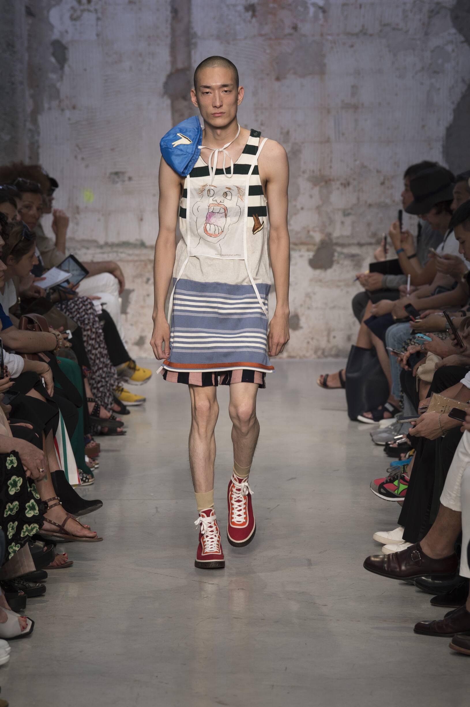 Spring Summer 2018 Man Milan Marni Collection