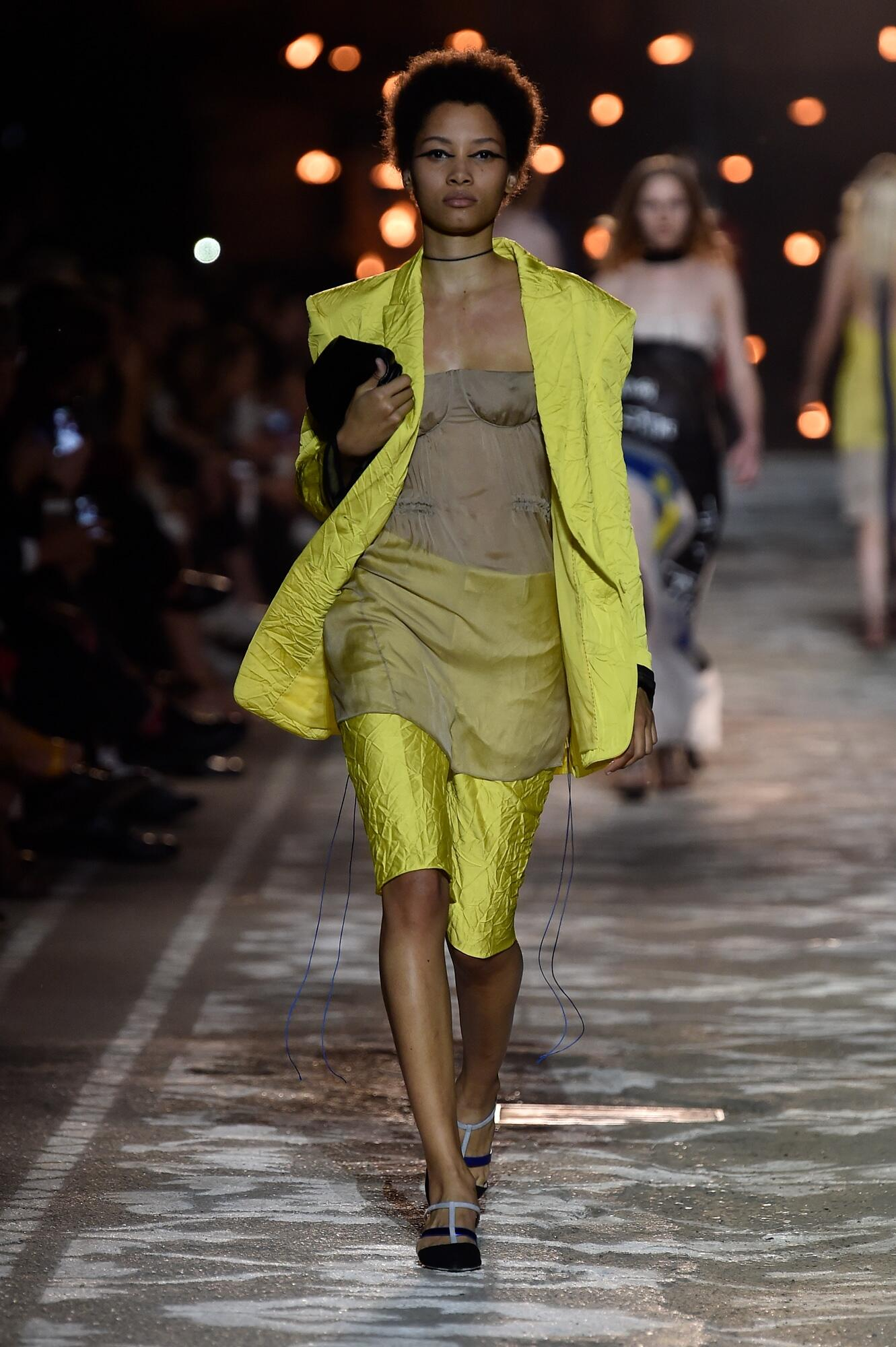 Spring Summer 2018 Woman Pitti Immagine Hugo Collection
