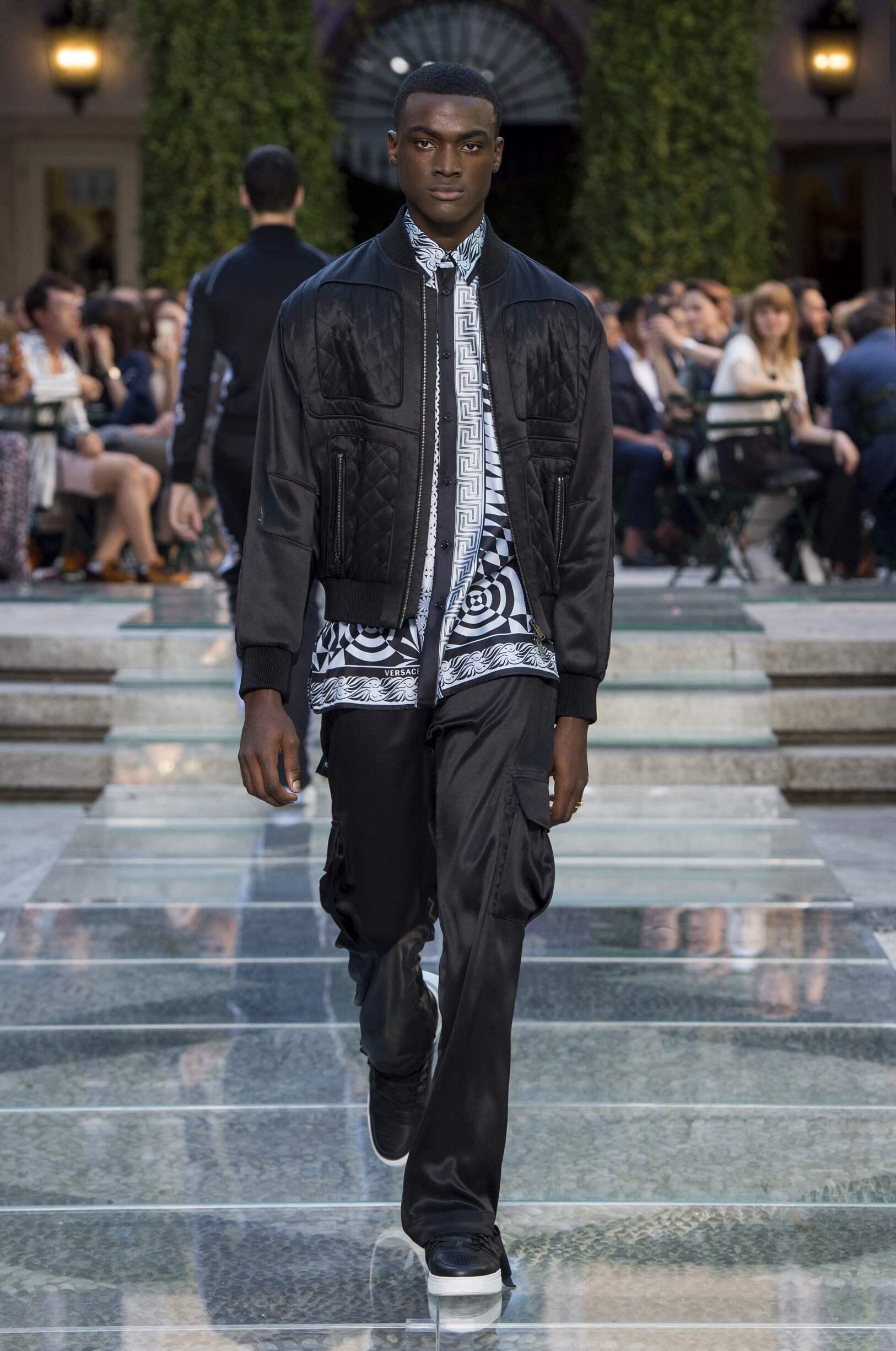 Versace SS 2018 Menswear