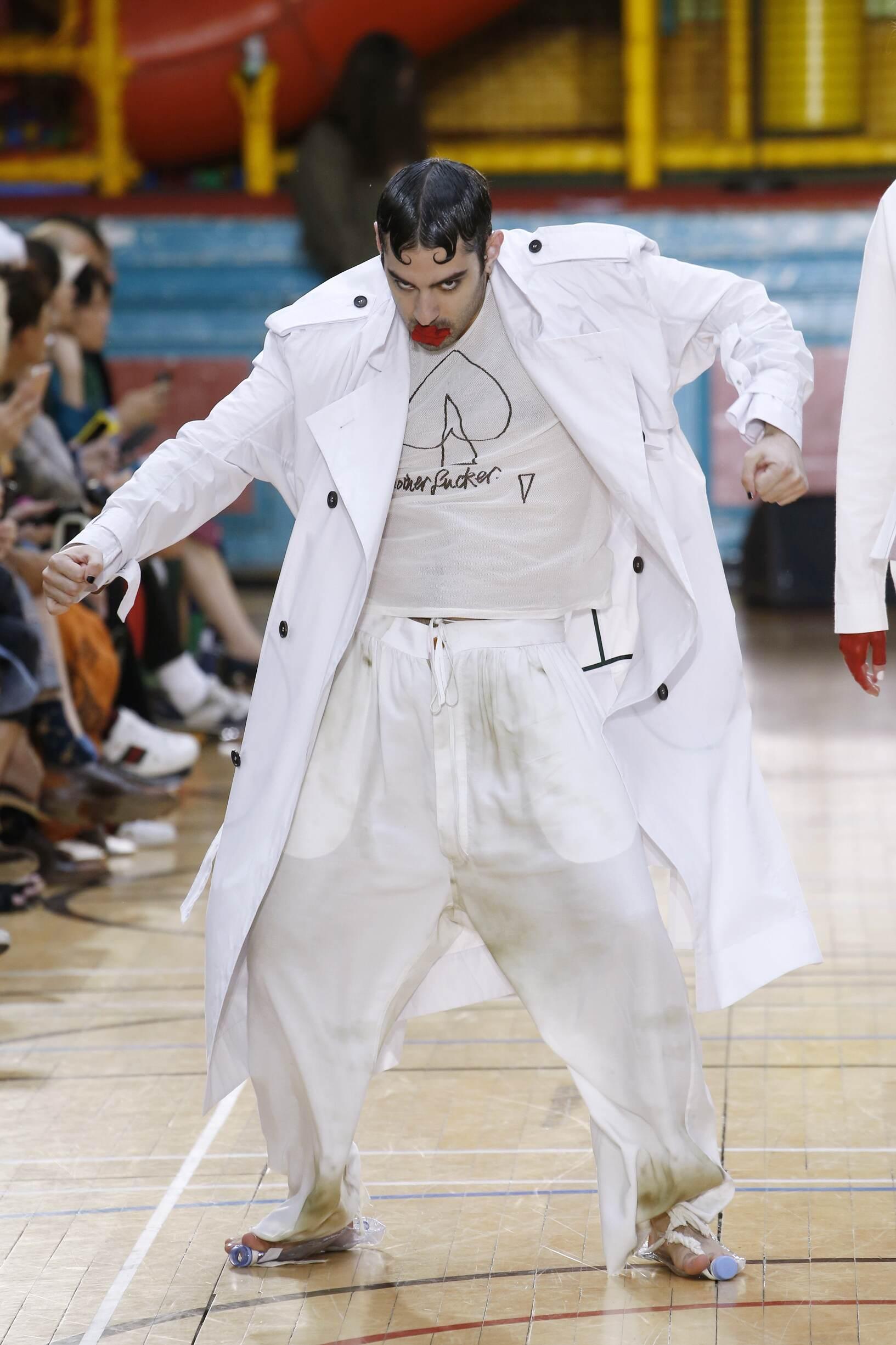 Vivienne Westwood 2018 London Trends Menswear