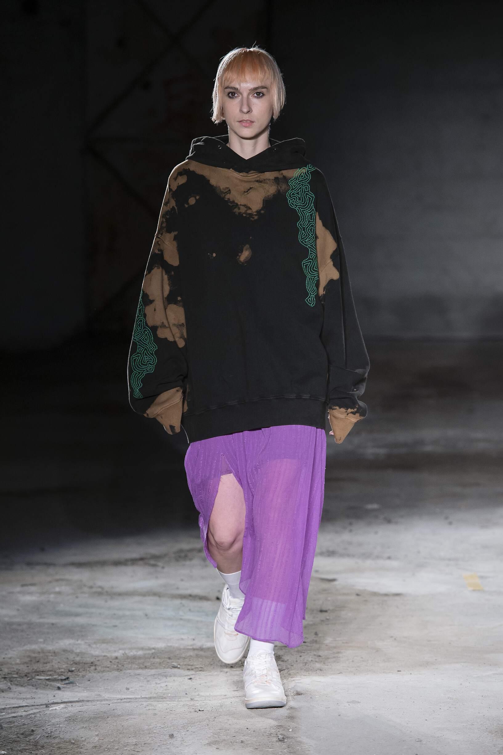 Fashion Model Damir Doma Catwalk