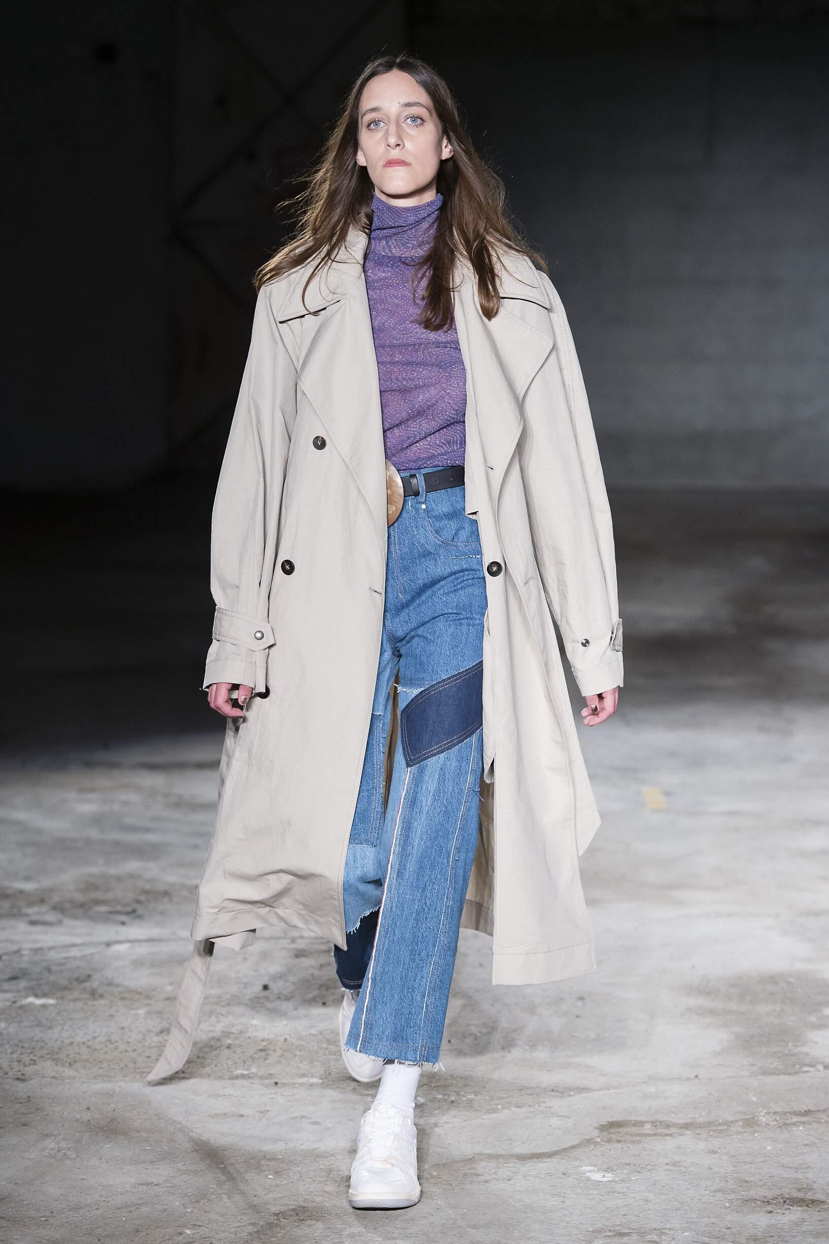 Fashion Woman Model Damir Doma Catwalk