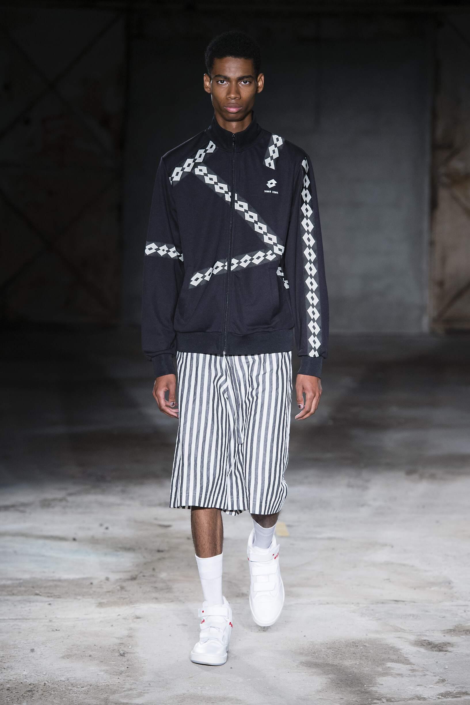 Runway Damir Doma Spring Summer 2018 Men's Collection Milan Fashion Week