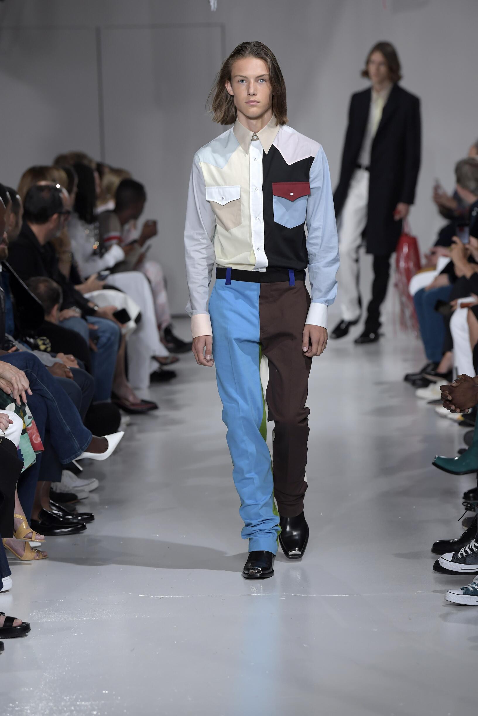 2018 Calvin Klein 205W39NYC Catwalk New York Fashion Week