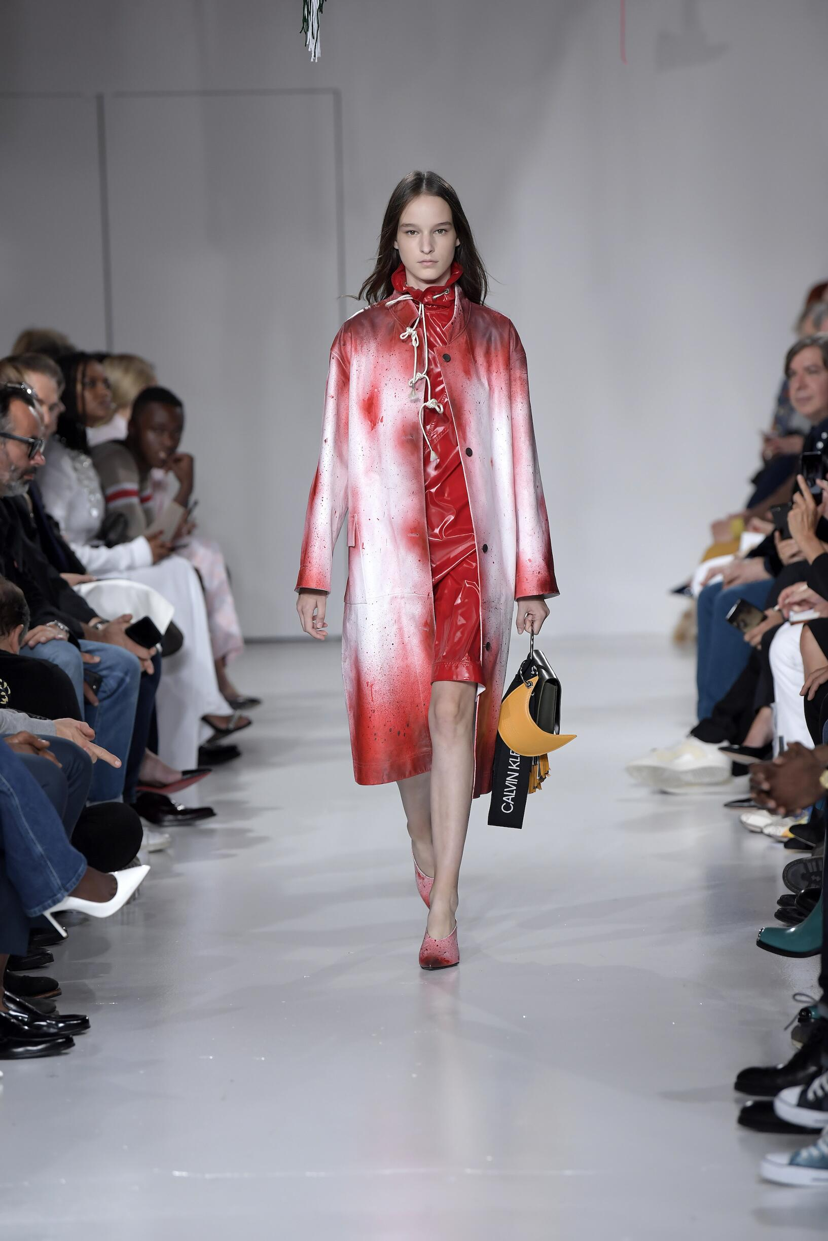 2018 Calvin Klein 205W39NYC Spring Summer Woman