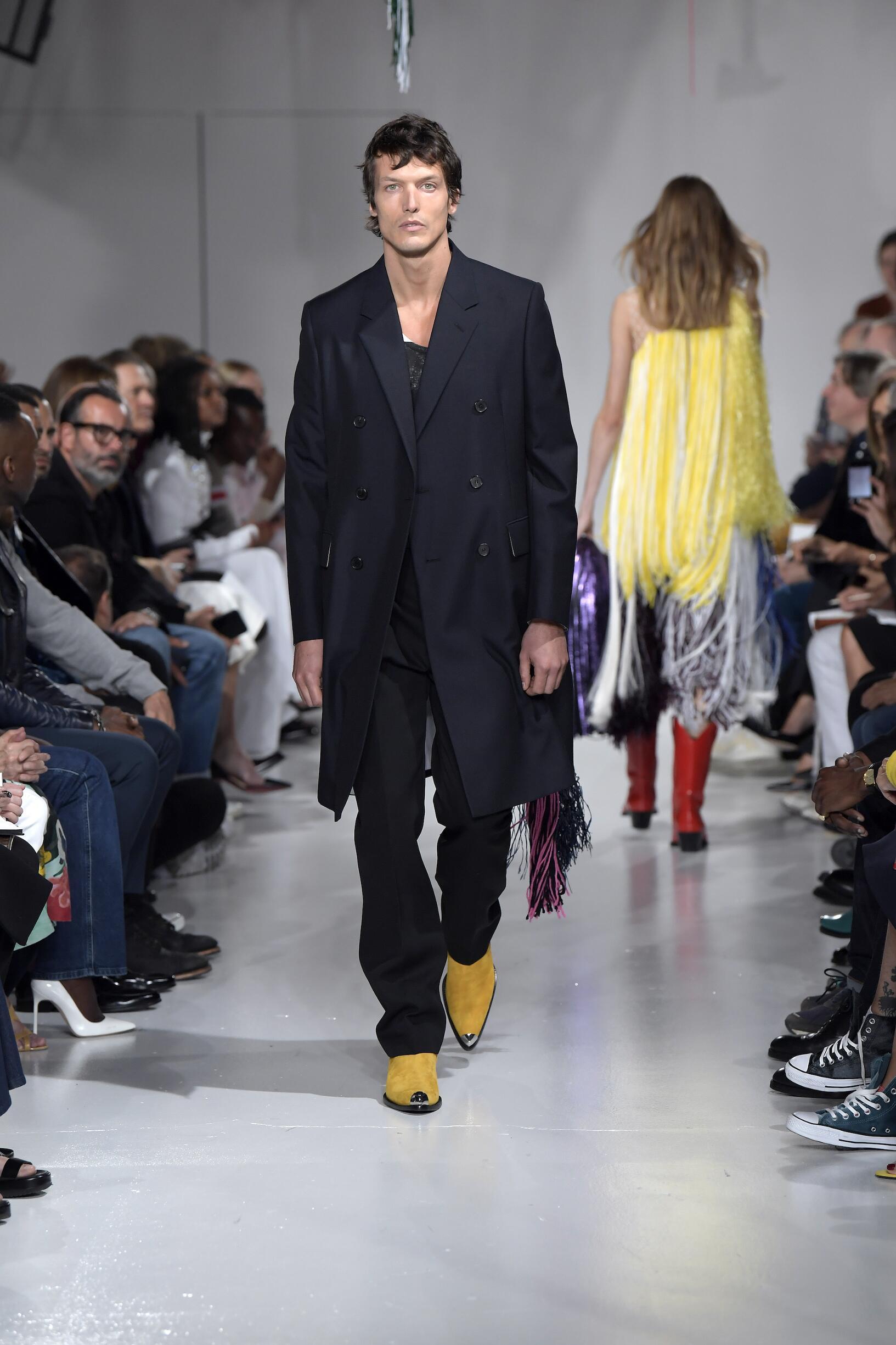 2018 Calvin Klein 205W39NYC Summer Runway Show Man