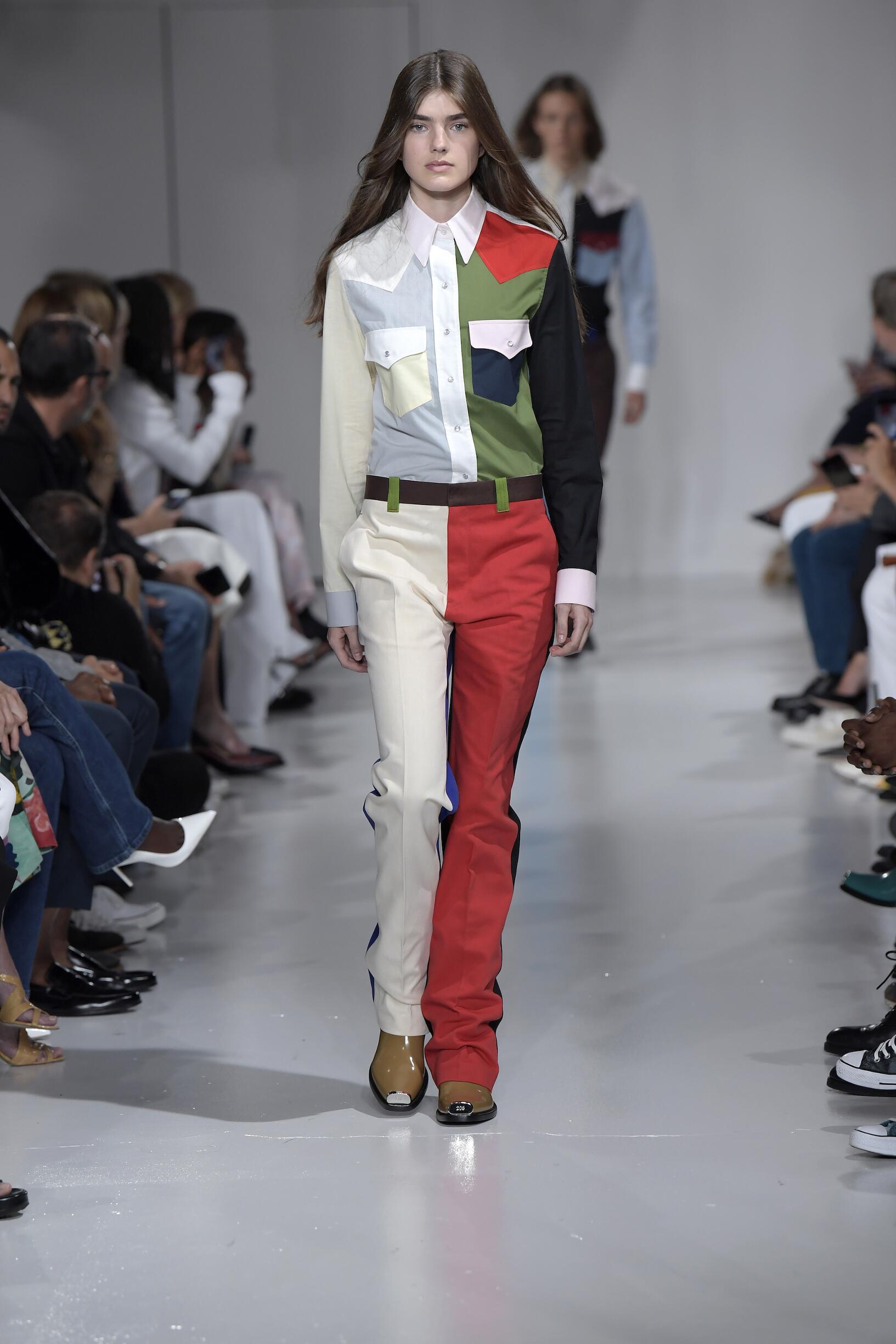 2018 Calvin Klein 205W39NYC Summer Runway