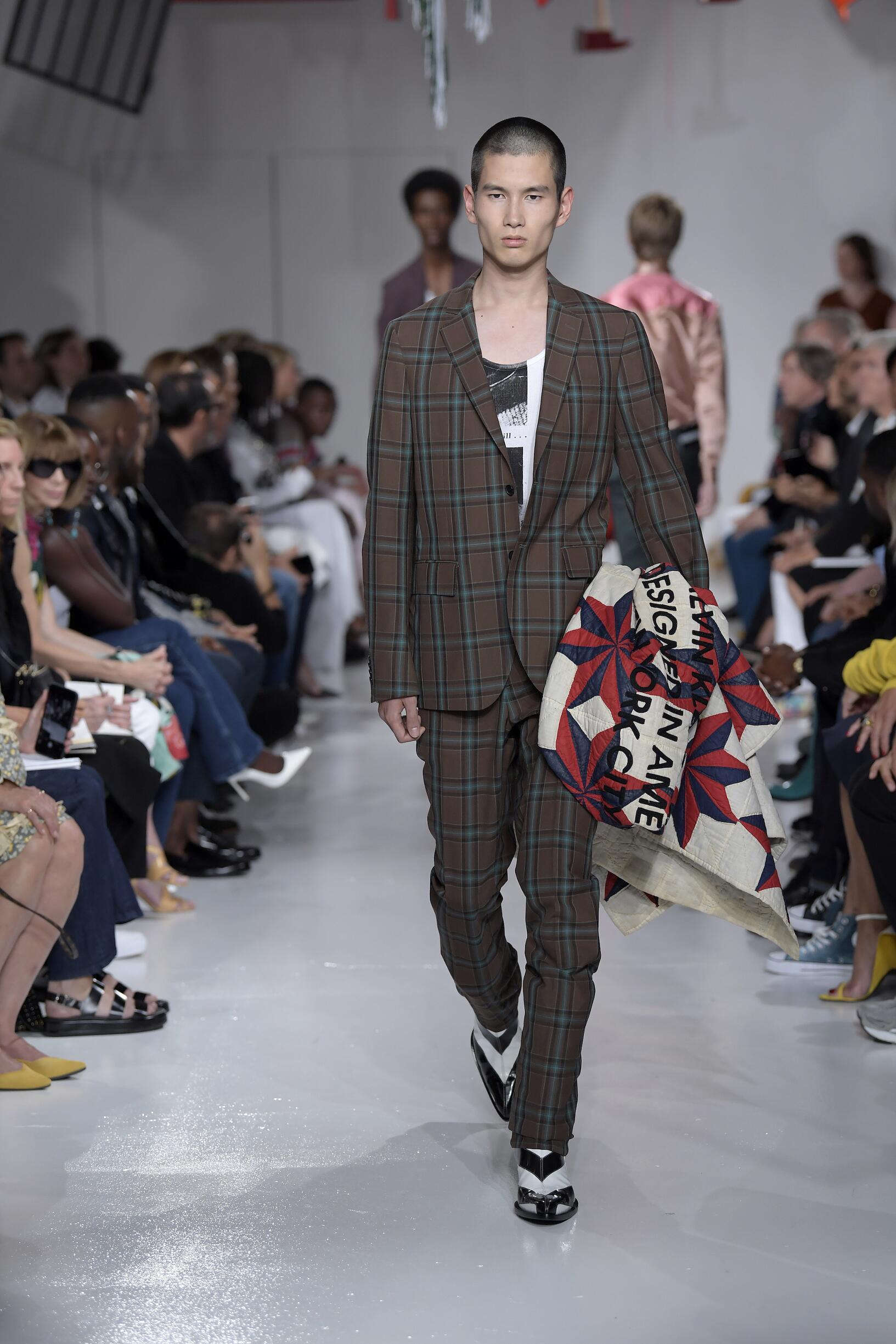 Calvin Klein 205W39NYC Catwalk
