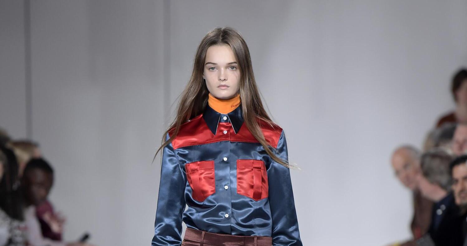 d35568b8315d Calvin Klein 205W39NYC Fashion Show SS 2018 New-York